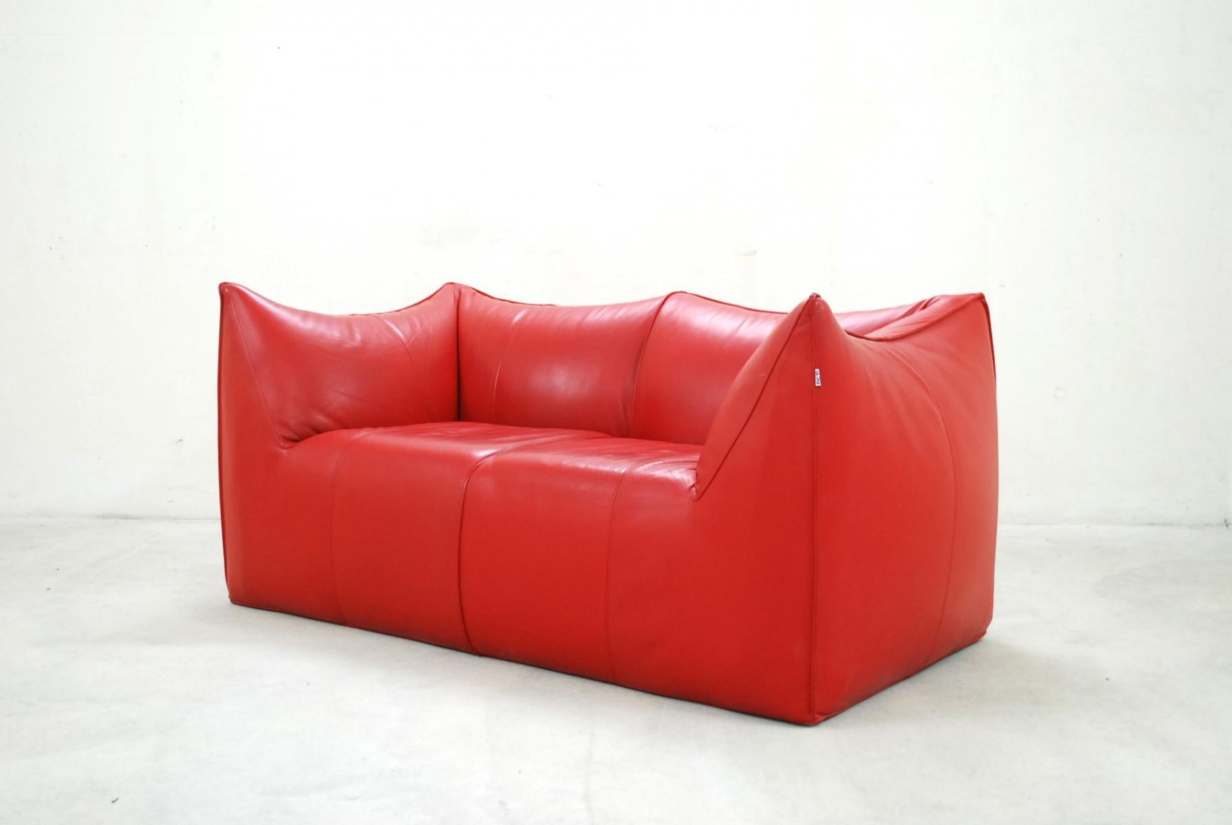 Italian Le Bambole Leather Sofamario Bellini For B&b Italia For Bellini Couches (View 6 of 20)