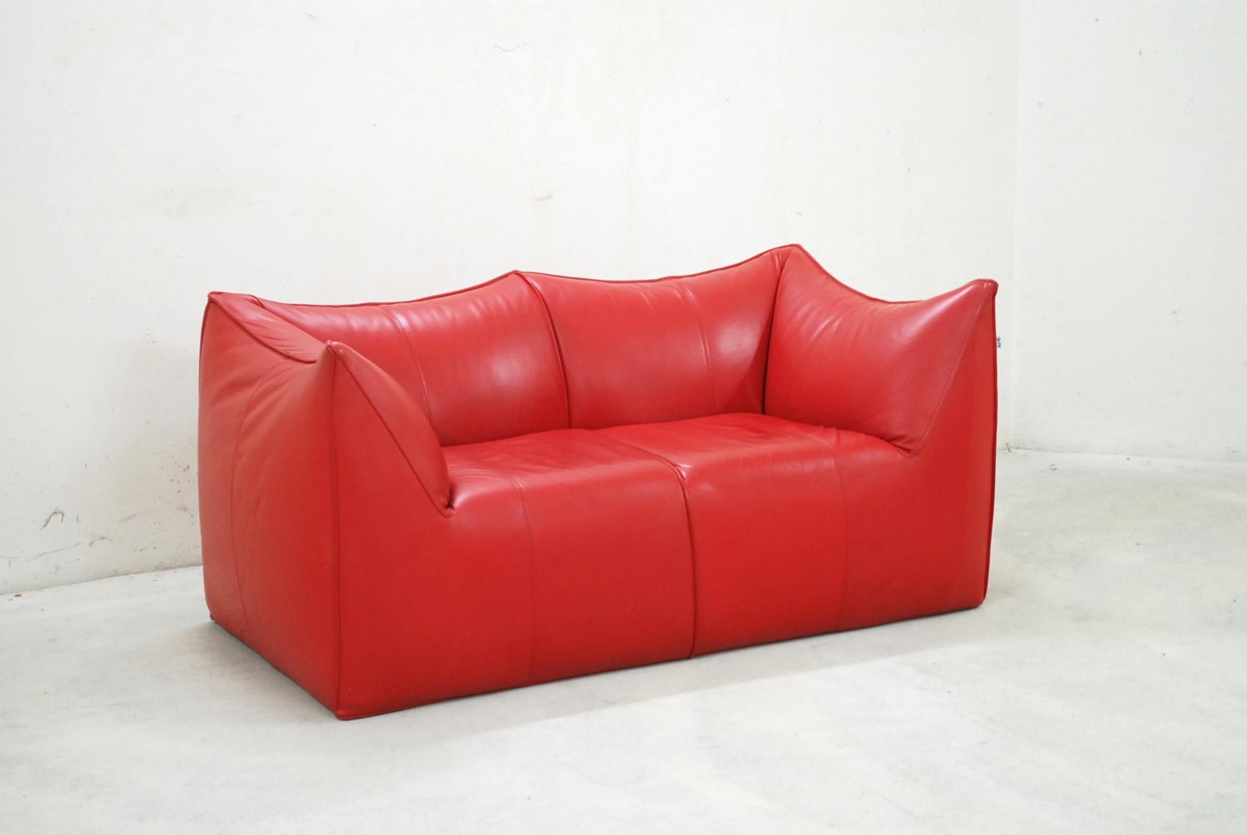 Italian Le Bambole Leather Sofamario Bellini For B&b Italia Intended For Bellini Couches (View 9 of 20)