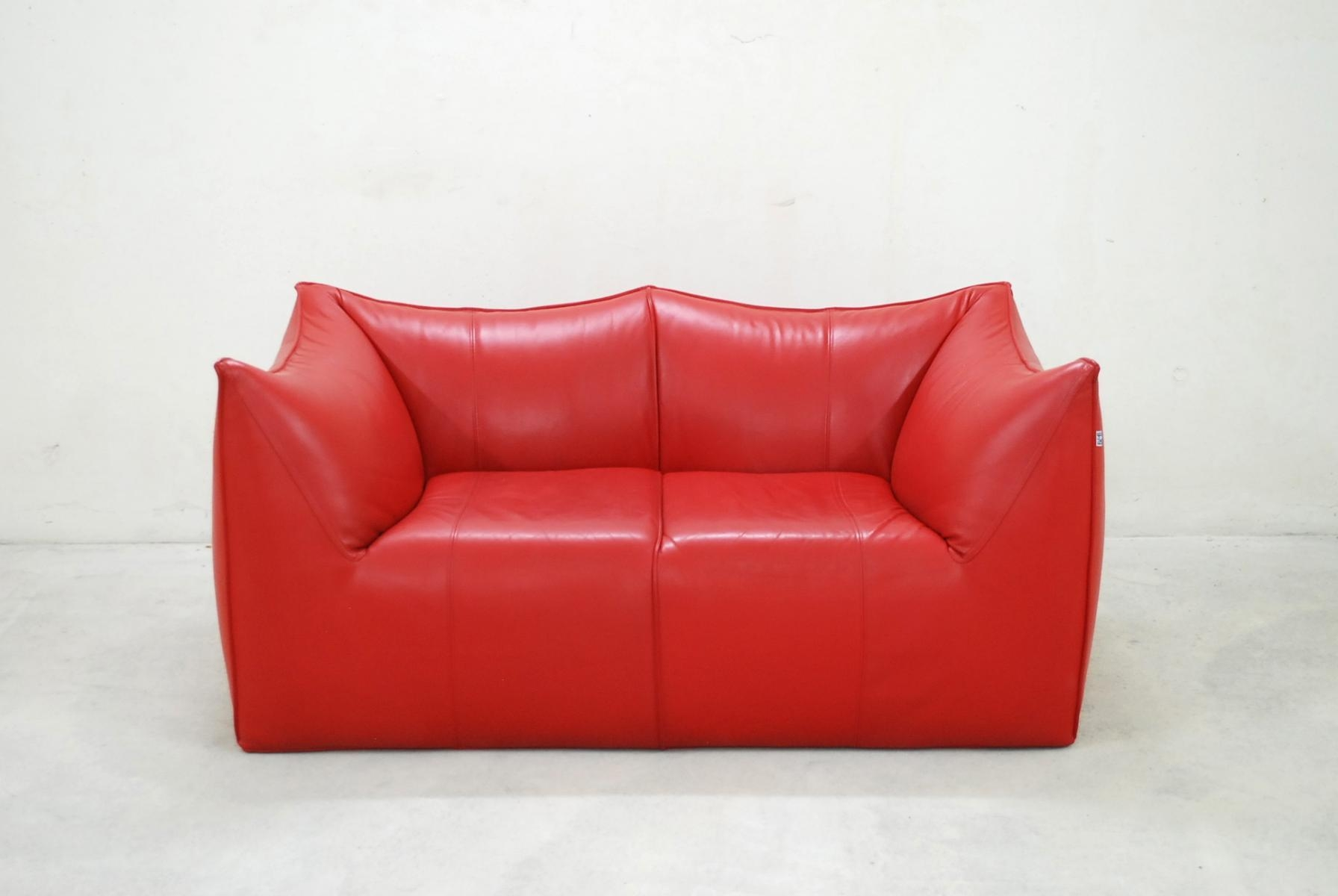 Italian Le Bambole Leather Sofamario Bellini For B&b Italia With Regard To Bellini Couches (View 3 of 20)