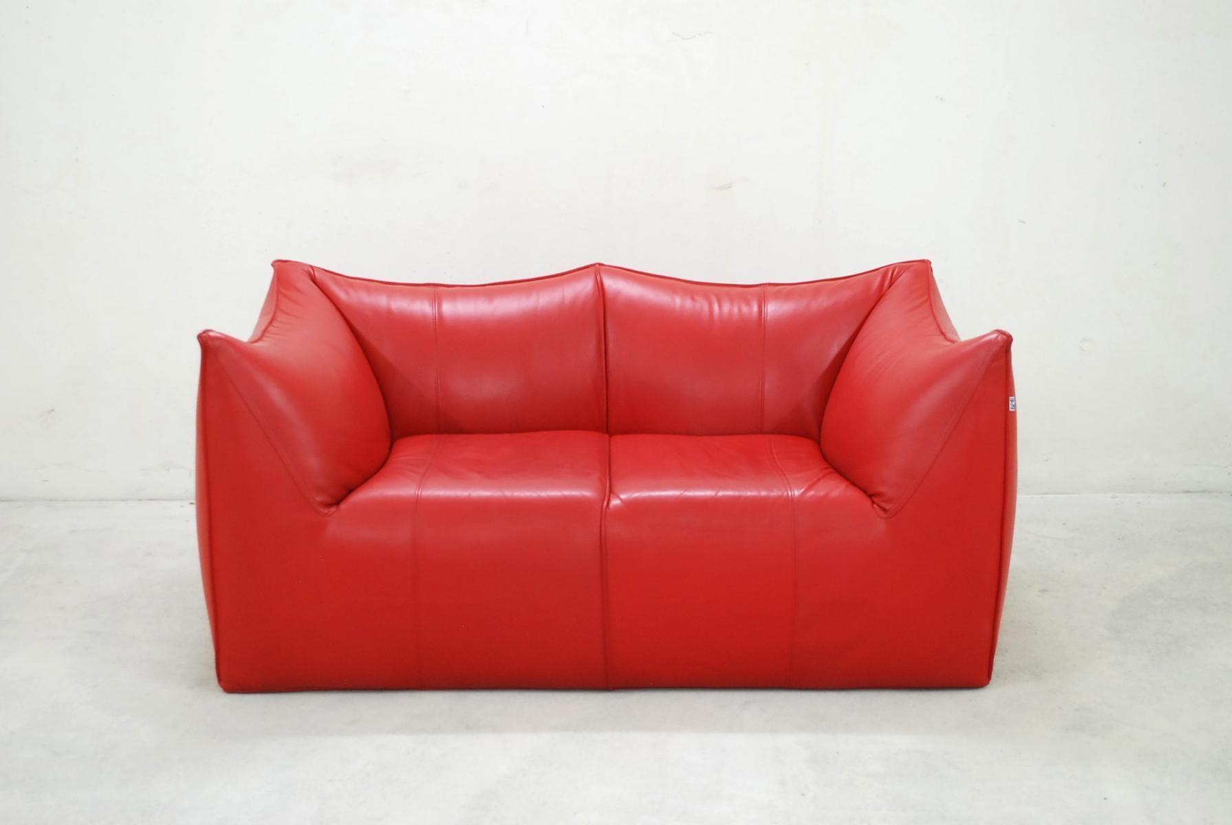 Italian Le Bambole Leather Sofamario Bellini For B&b Italia With Regard To Bellini Couches (Image 9 of 20)