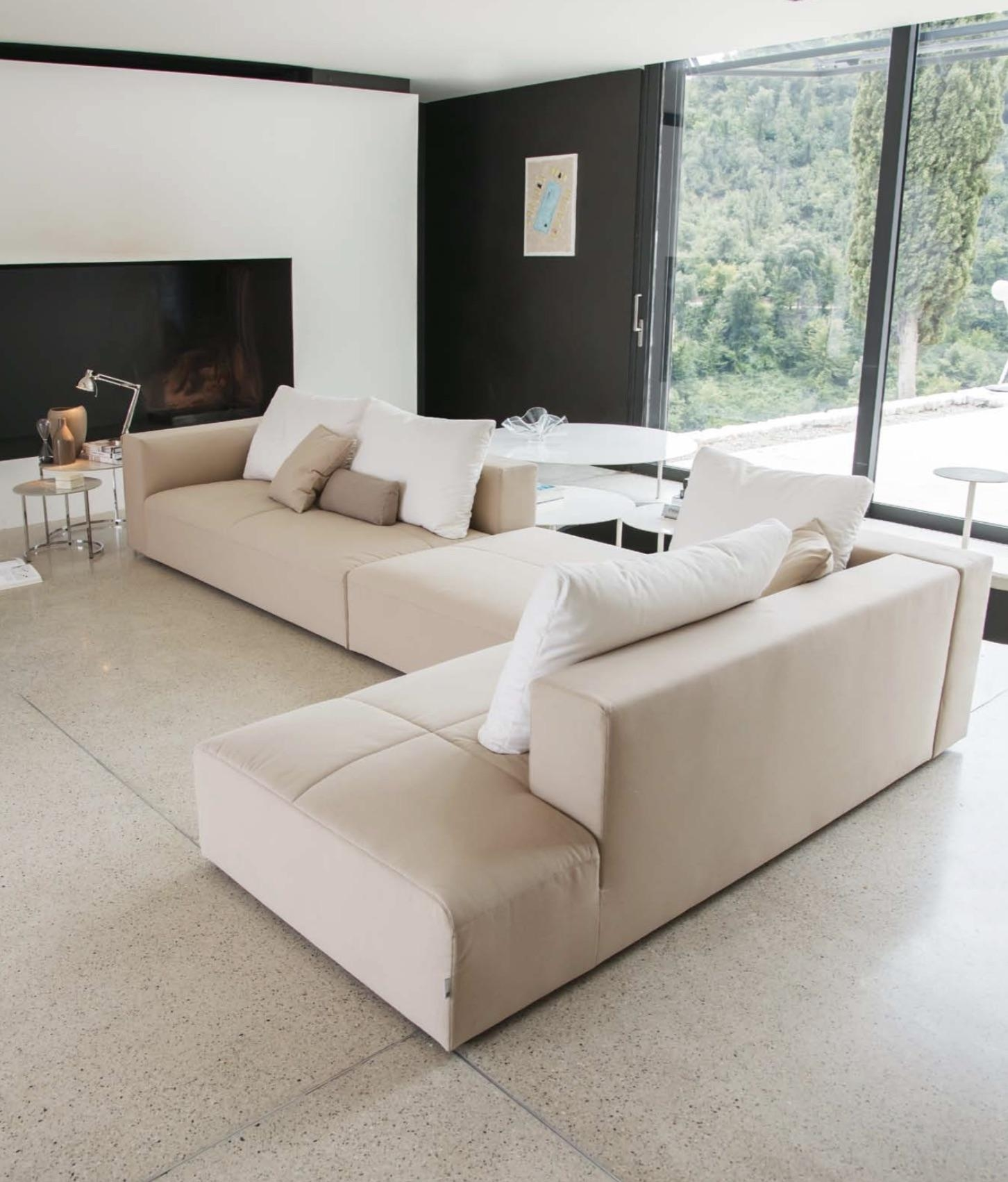 Italian Sectional Sofas | Momentoitalia Italian Modern Sofas With Down Sectional Sofa (Image 9 of 15)