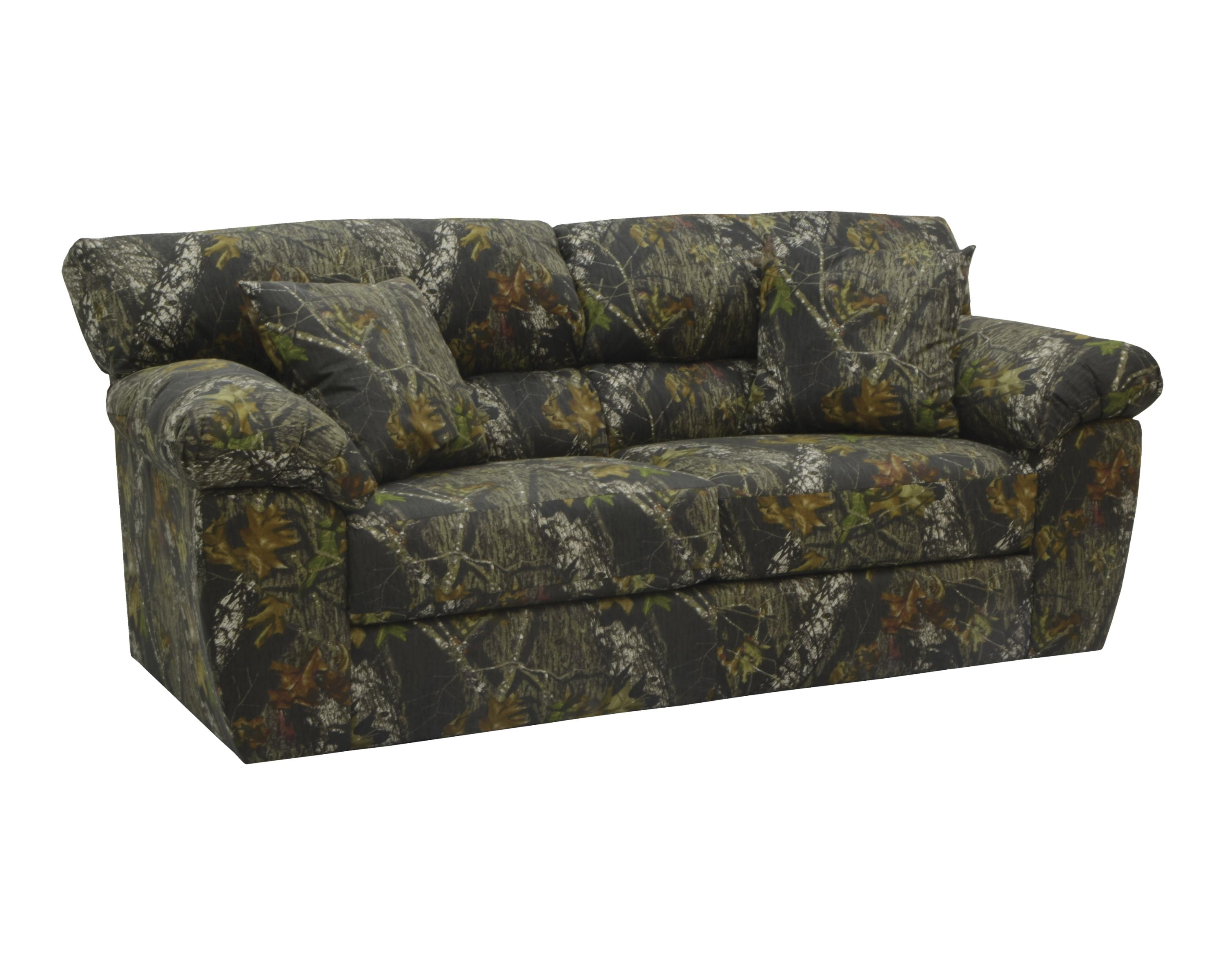 Jackson Furniture Big Game Mossy Oak Camo Sofa And Loveseat Set in Camouflage Sofas