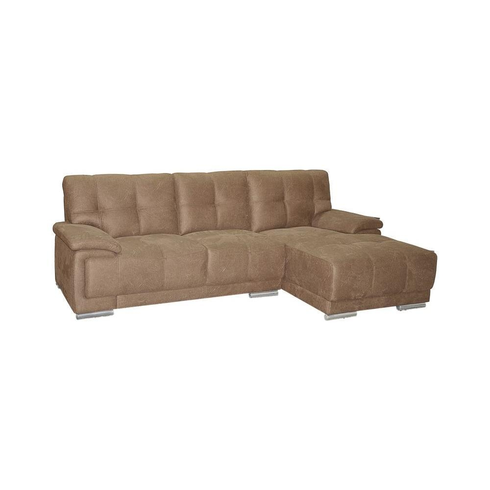 Jacob Contemporary Tufted-Stitch Sectional Sofa With Right Facing intended for Tufted Sectional Sofa With Chaise