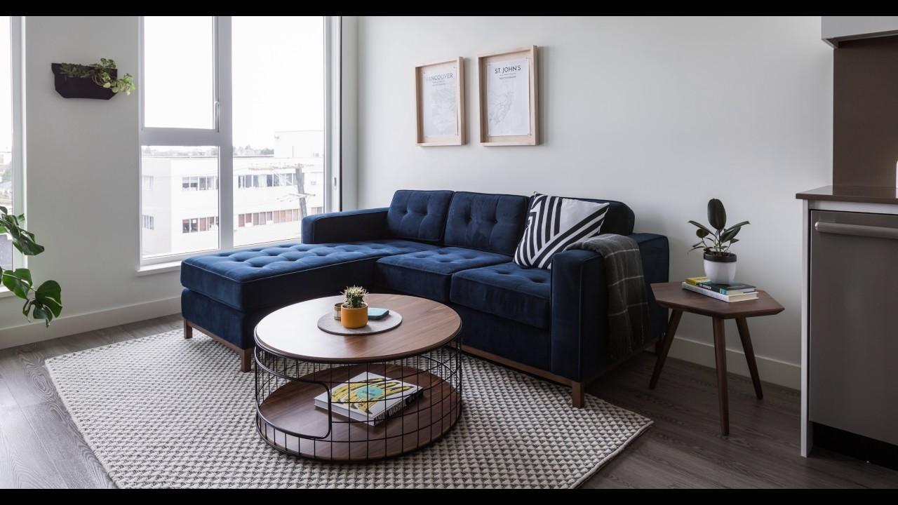 Jane Bi-Sectional Sofa Demogus* Modern - Youtube for Jane Bi Sectional Sofa