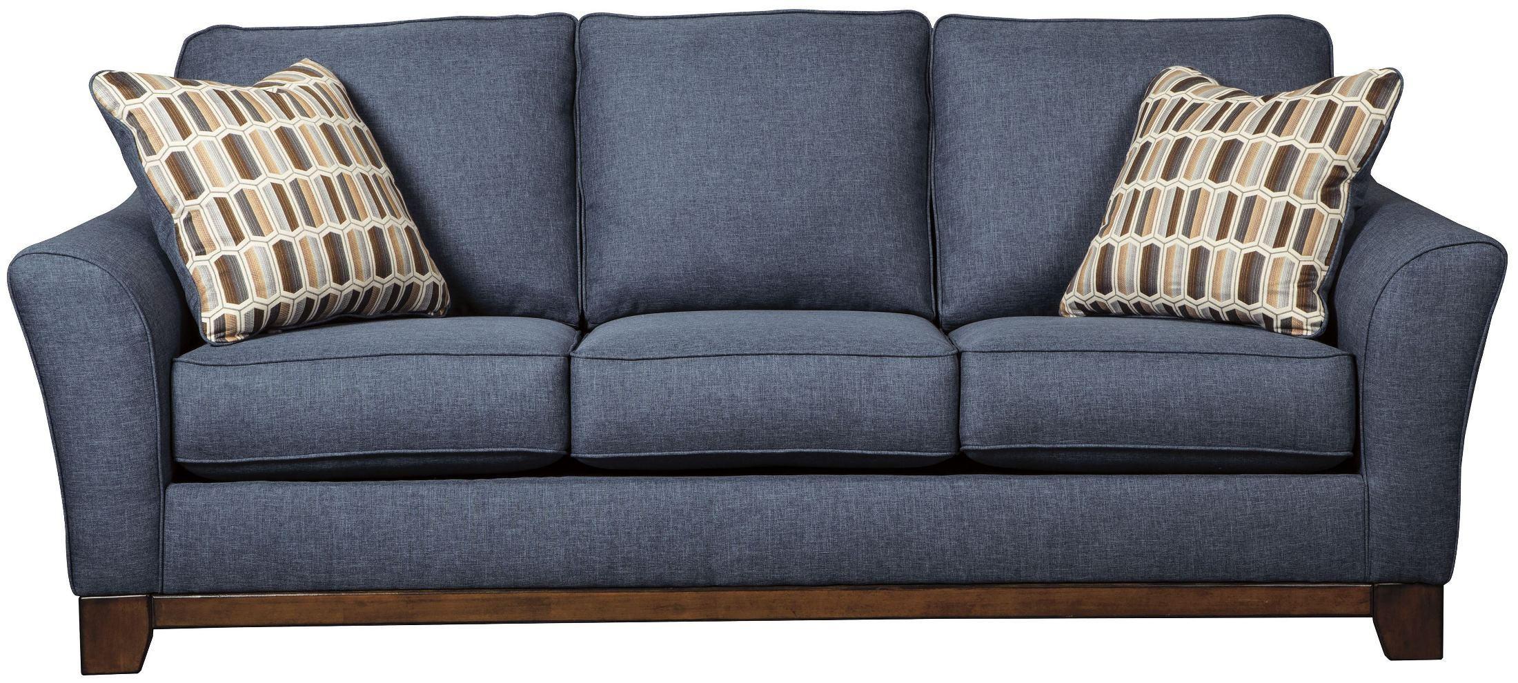 Janley Denim Sofa regarding Denim Sofas and Loveseats