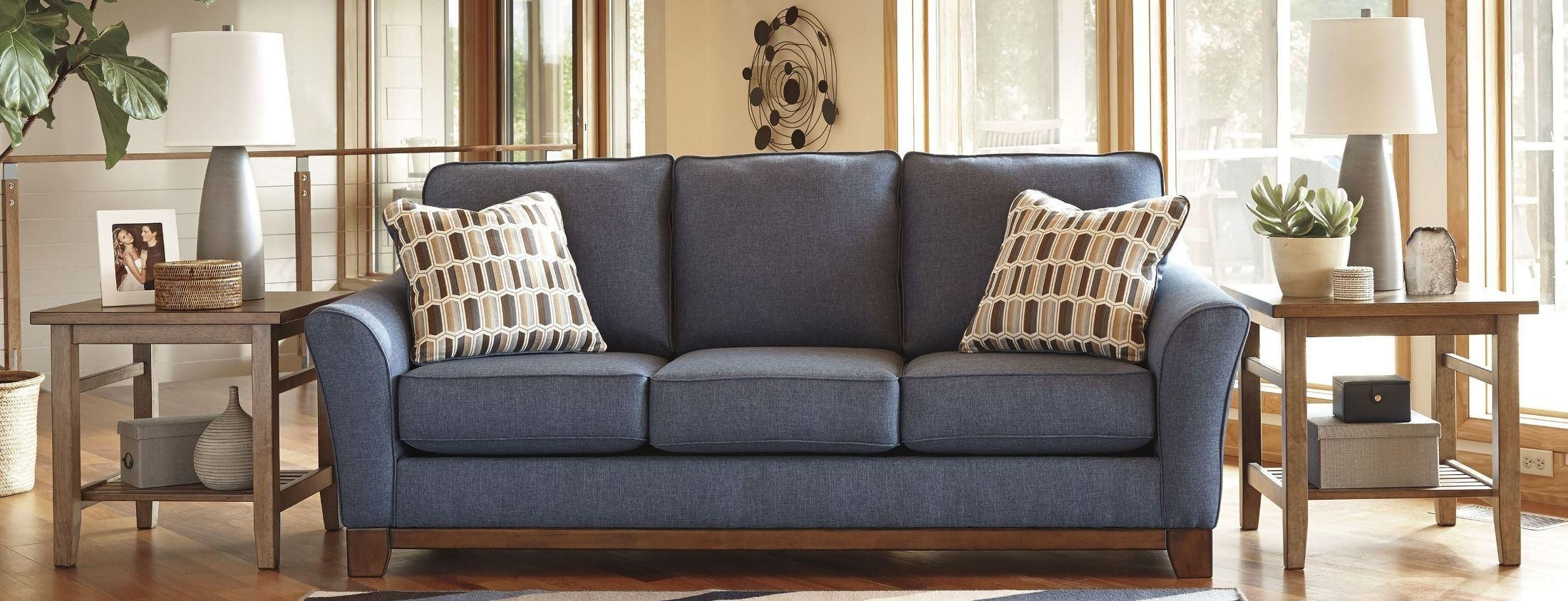 Janley Denim Sofa With Regard To Denim Sofas And Loveseats (Image 11 of 12)