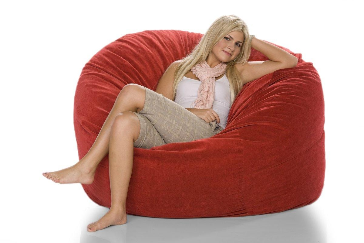 Jaxx Giant Bean Bag Chair & Reviews | Wayfair With Regard To Giant Bean Bag Chairs (Image 18 of 20)