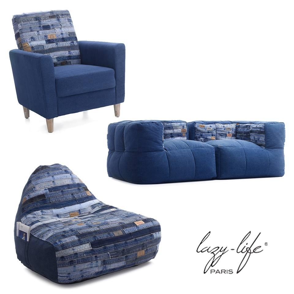 Jean Furniture Collection – Férénia With Blue Jean Sofas (View 19 of 20)