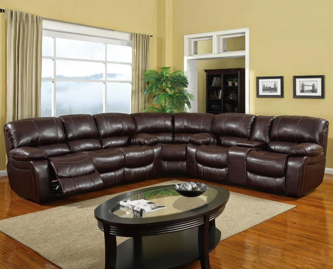 Jedd Fabric 6 Piece Power Reclining Sectional Sofa | Demand Sofas Set within Jedd Fabric Reclining Sectional Sofa
