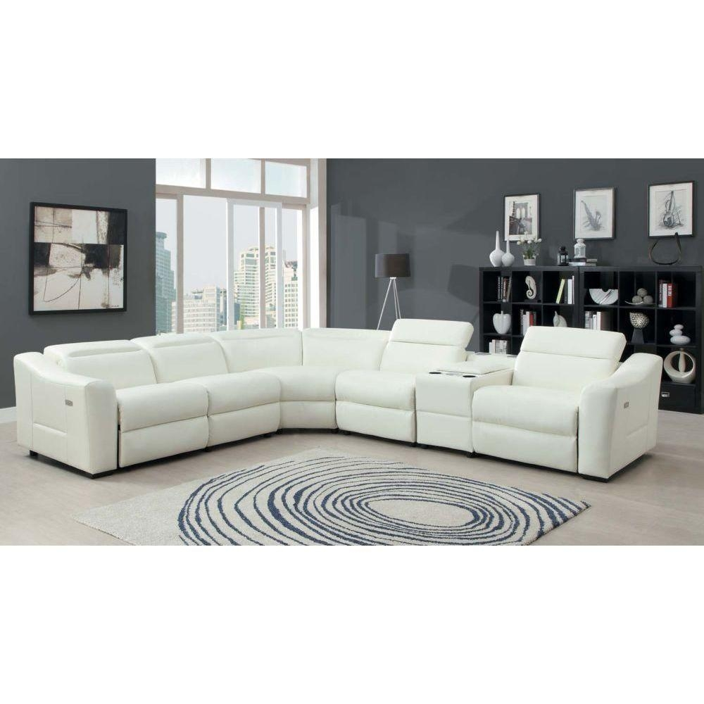 Jedd Fabric 6 Piece Power Reclining Sectional Sofa | Home Design Ideas Pertaining To Jedd Fabric Reclining Sectional Sofa (View 17 of 20)