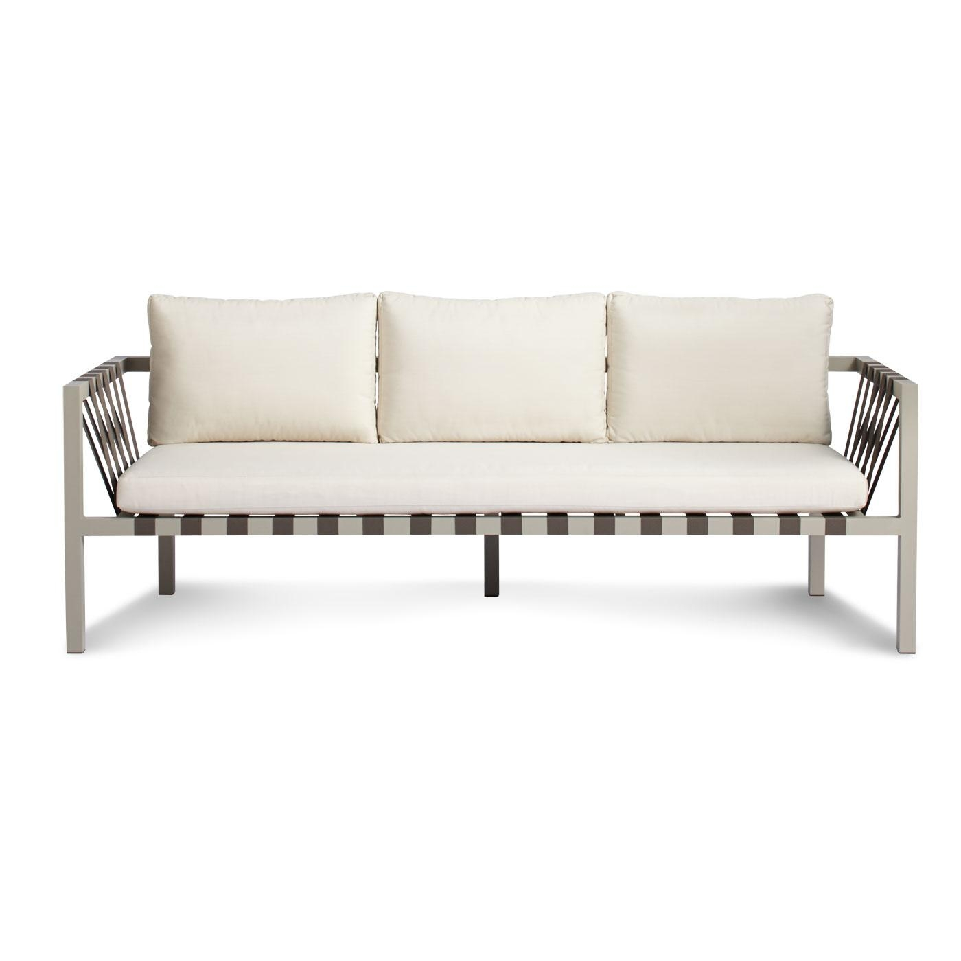 Jibe Outdoor 3 Seat Sofa - Modern Outdoor Sofas | Blu Dot in Blu Dot Sofas