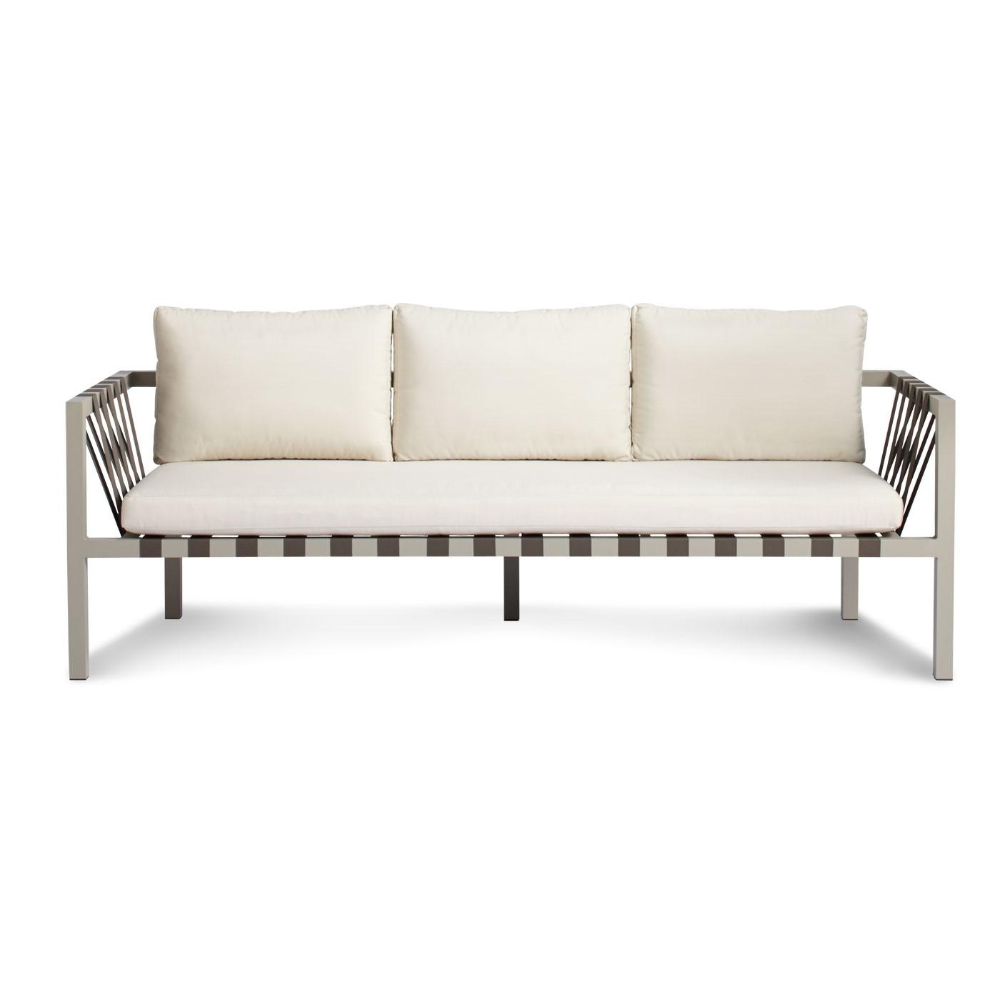 Jibe Outdoor 3 Seat Sofa – Modern Outdoor Sofas | Blu Dot In Modern 3 Seater Sofas (View 16 of 20)