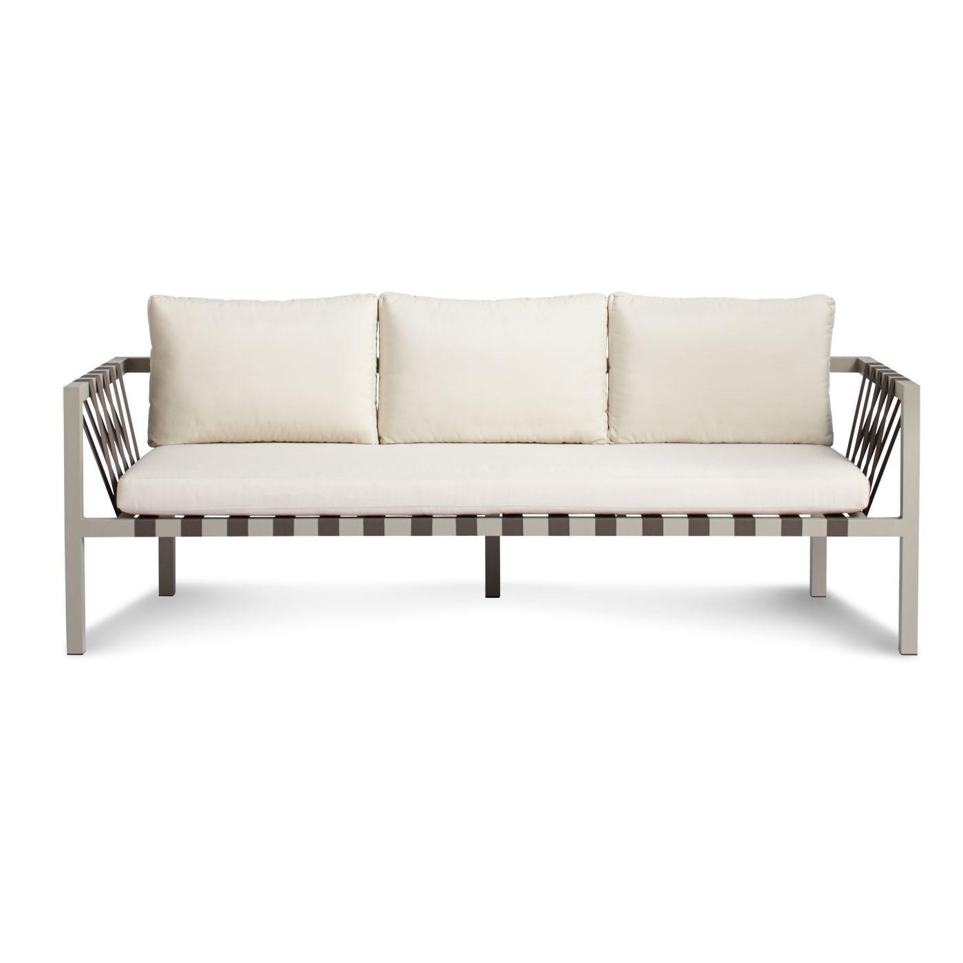 Jibe Outdoor 3 Seat Sofa - Modern Outdoor Sofas | Blu Dot in Modern 3 Seater Sofas