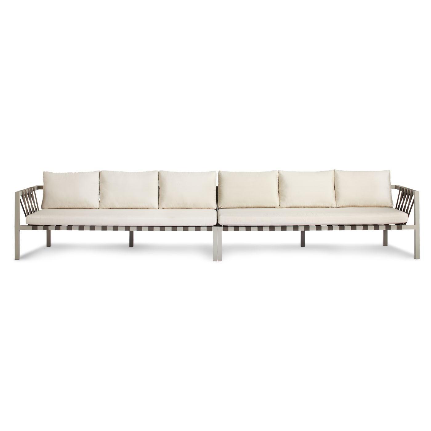 Jibe Outdoor Extra Long Sectional Sofa - Modern Furniture - Blu Dot inside Long Modern Sofas