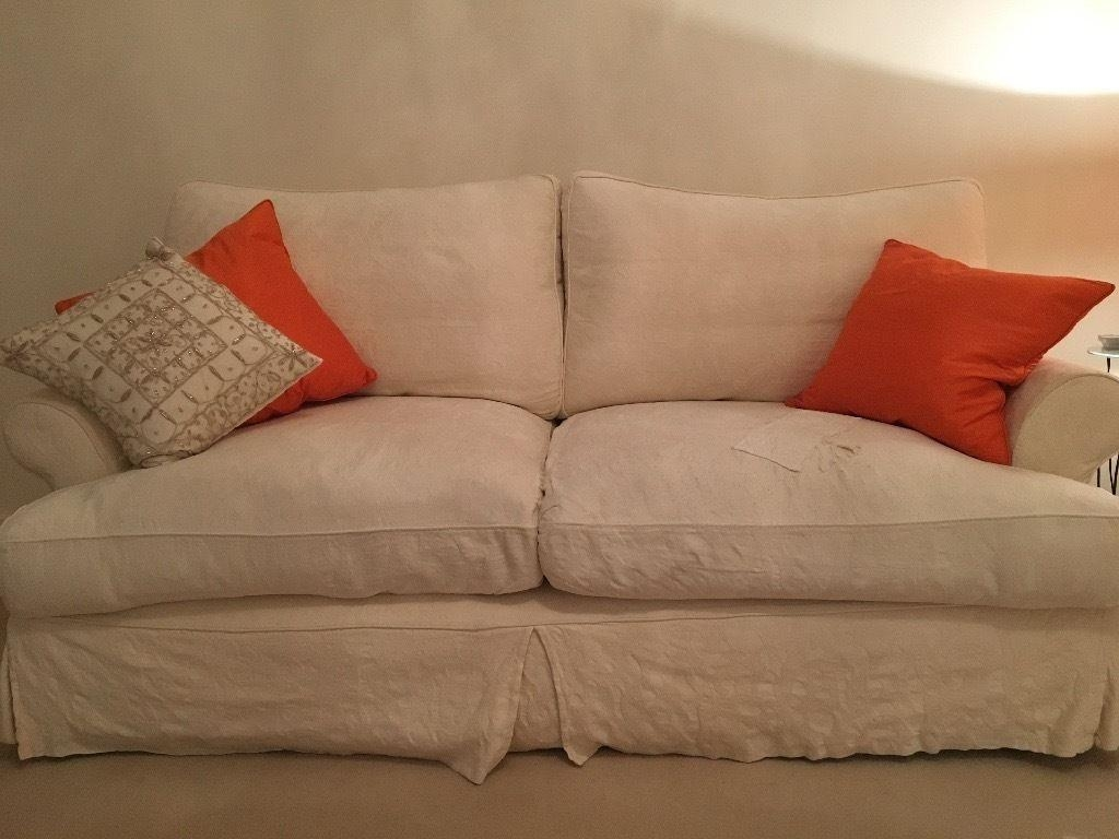 John Lewis Sofa Set- 3 Seater & 2 Seater. Removable & Washable throughout Sofa With Washable Covers