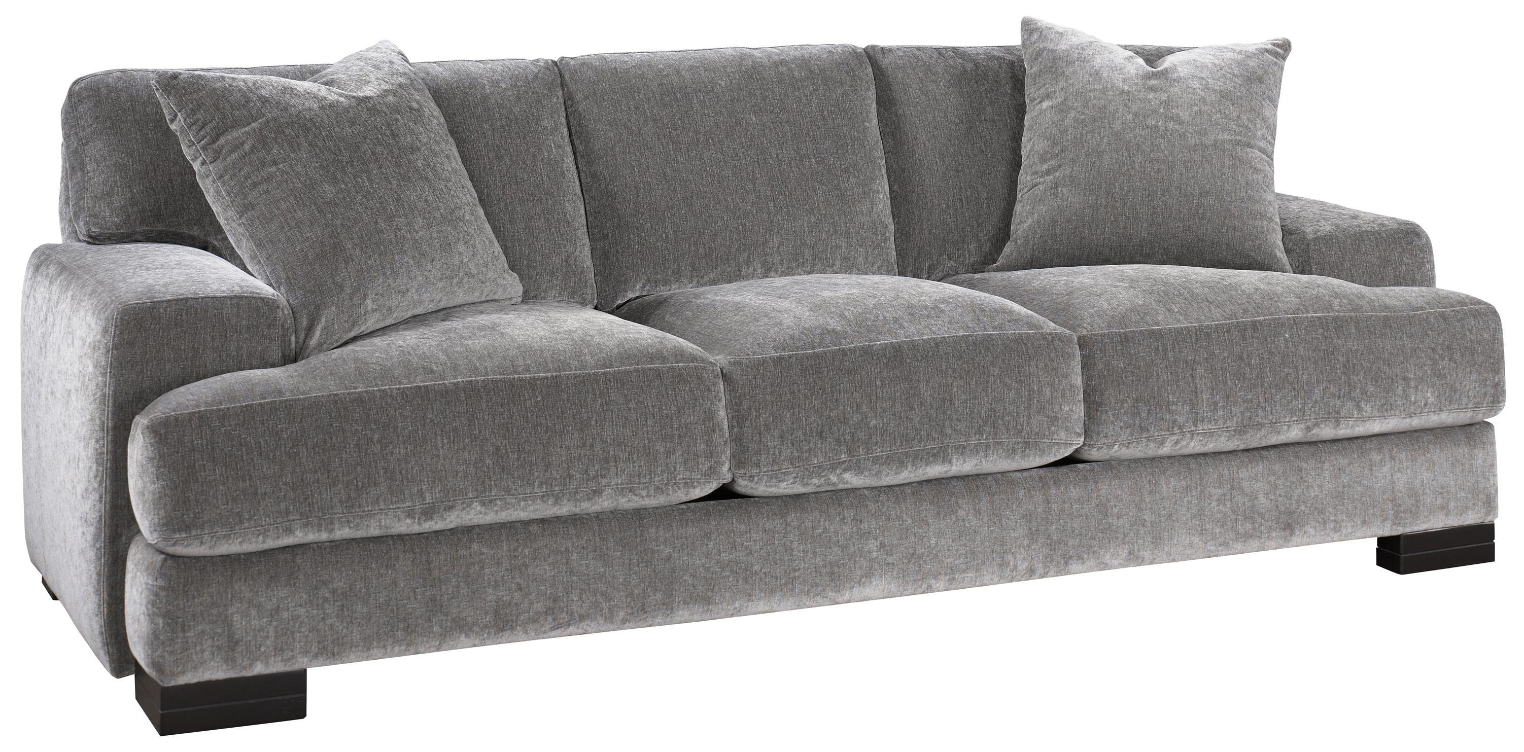 Jonathan Louis Burton Modern Sofa With Low Track Arms And Exposed In Jonathan Louis Sectional (Image 7 of 20)