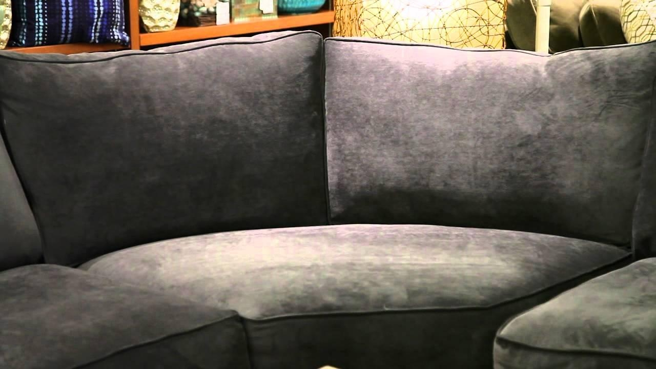 Jonathan Louis Gypsy Graphite 4 Piece Sectional – Youtube Within Jonathan Louis Sectional (Image 15 of 20)