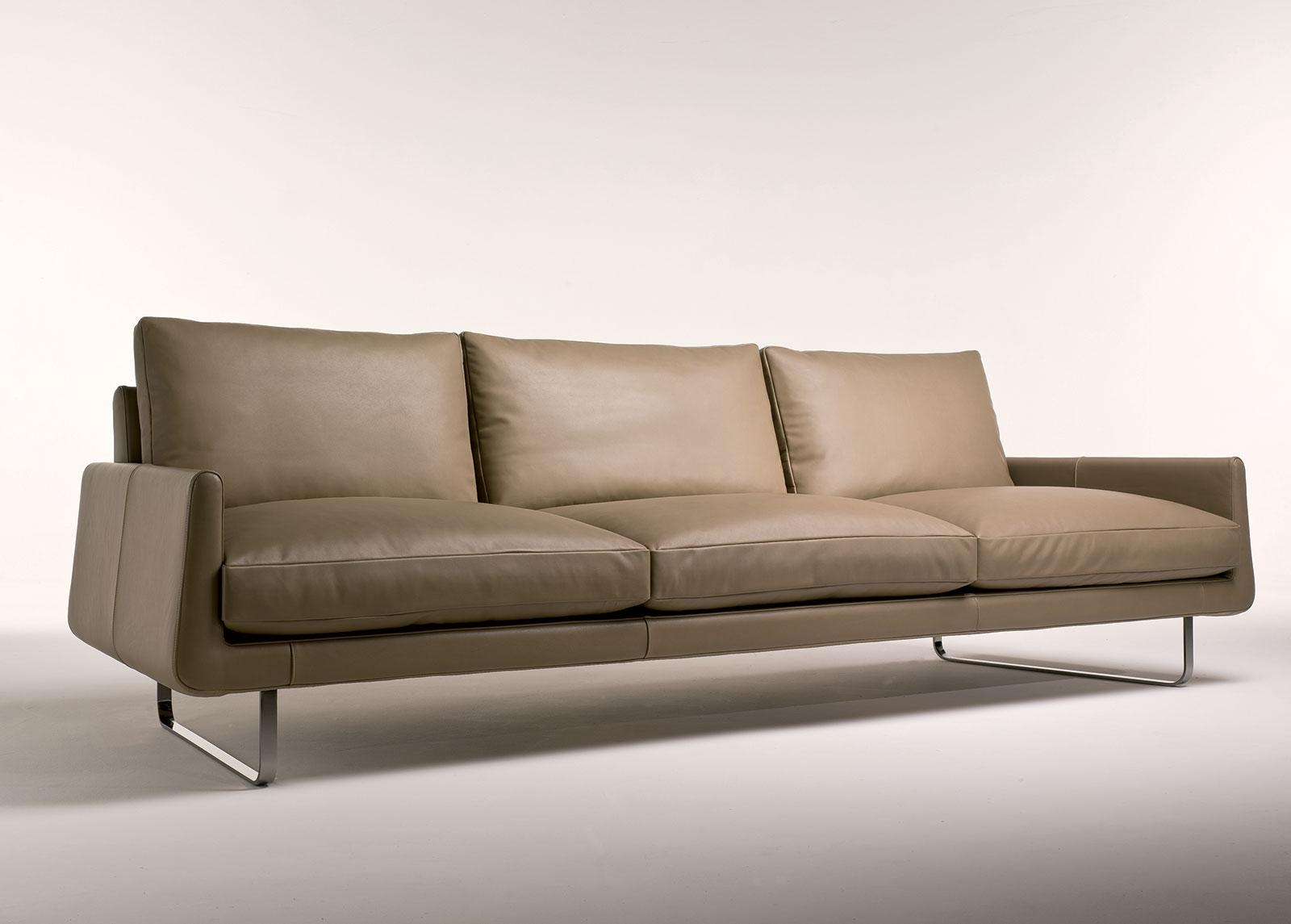 Joshua 4 Seater Leather Sofa | Shop Online - Italy Dream Design with 4 Seater Sofas