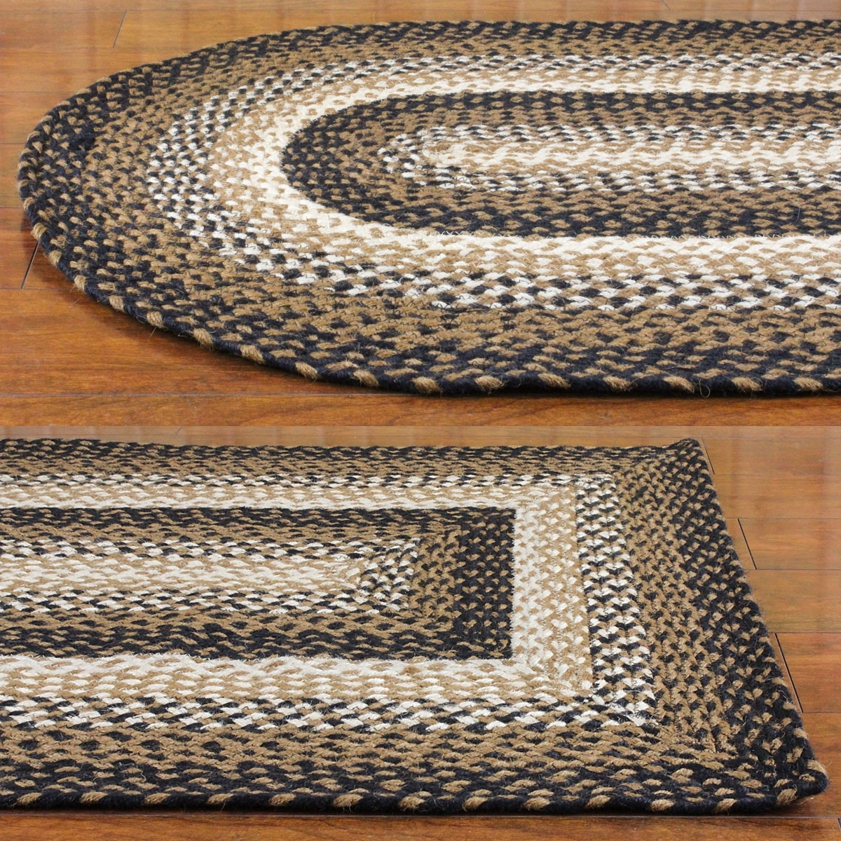 Featured Photo of Buy Braided Rugs For Less