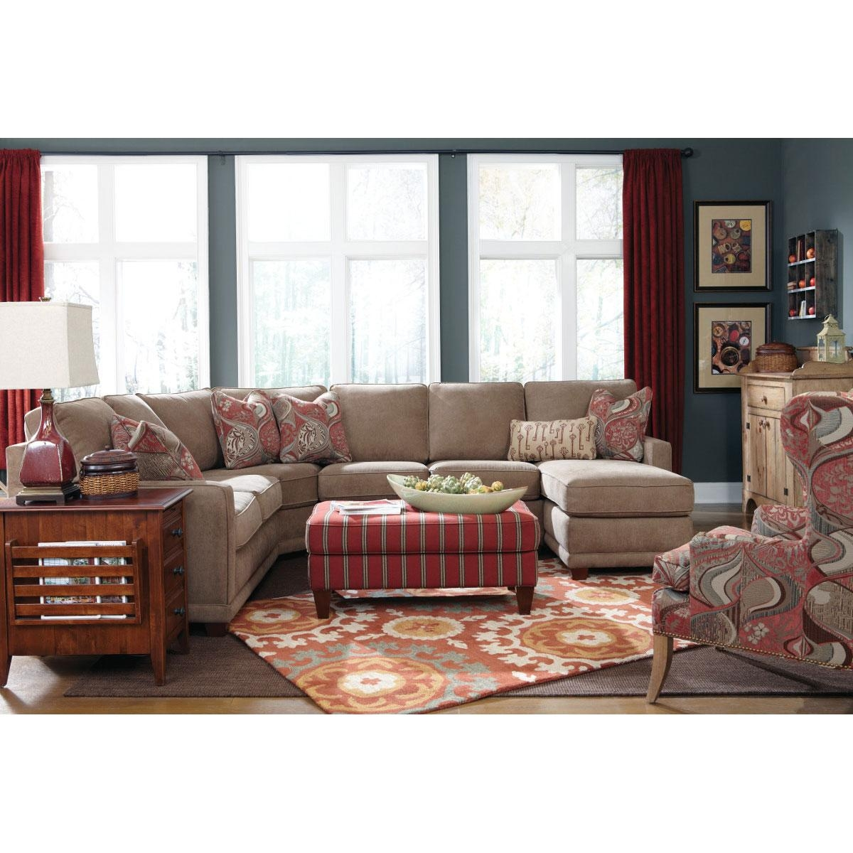 Kennedy Sectional For Lazyboy Sectional (Image 11 of 20)