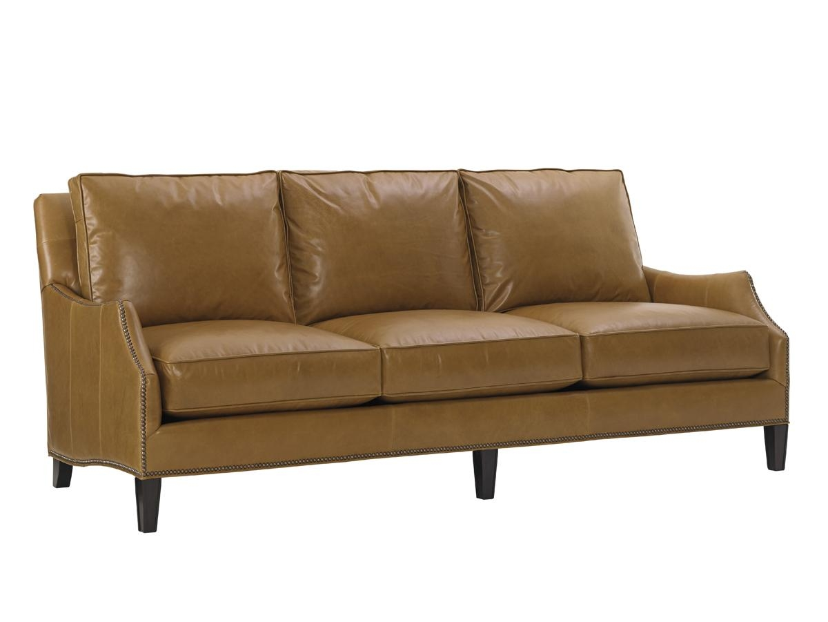 Kensington Place Ashton Leather Sofa | Lexington Home Brands Inside Ashton Sofas (View 16 of 20)