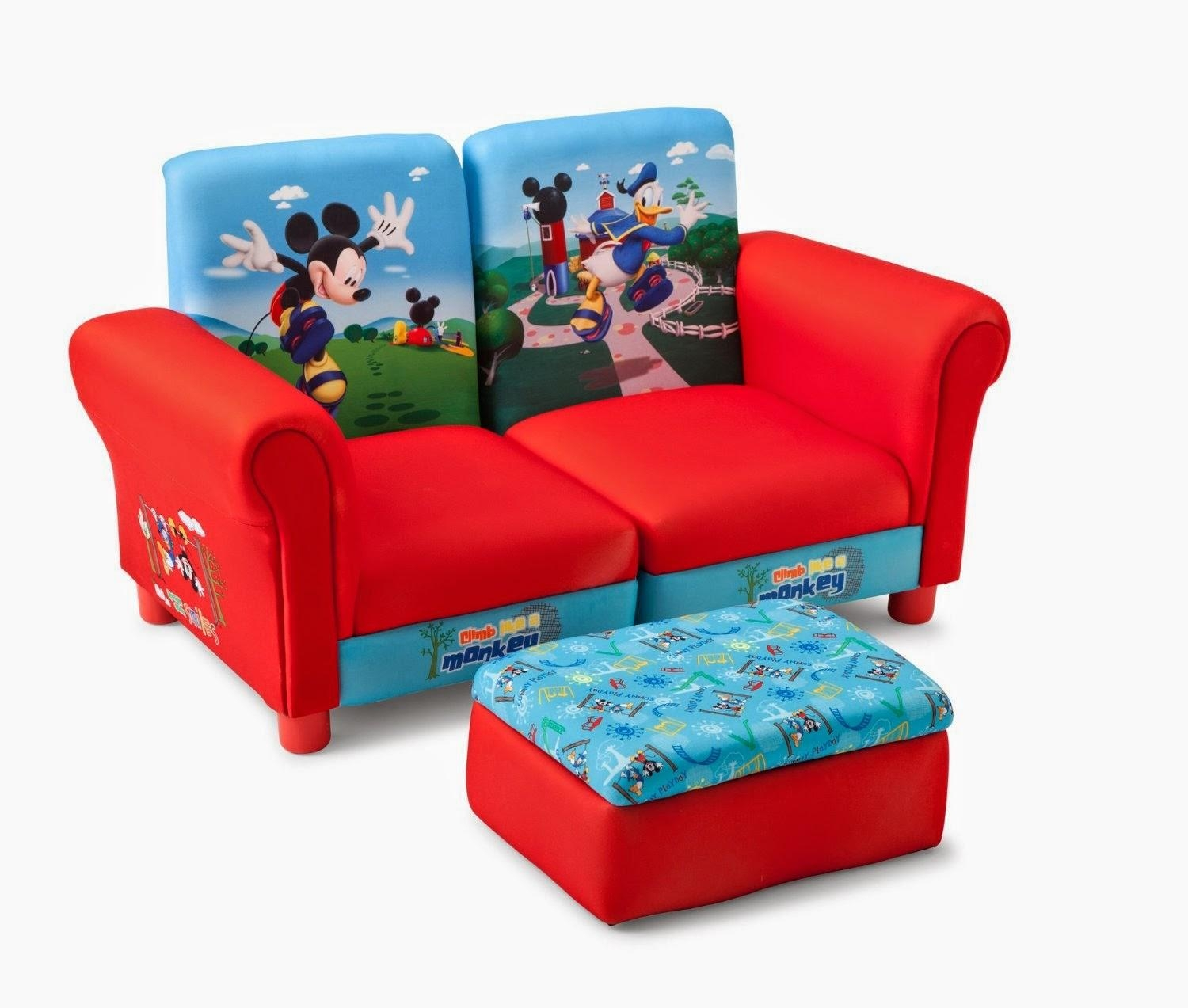 Kids Couch: Kids Sectional Couch In Mickey Fold Out Couches (Image 5 of 20)