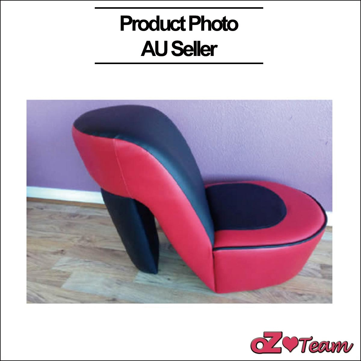 Kids Toddlers Sofa Lounge Couch High Heeled Shoes Seat Chair In Heel Chair Sofas (View 11 of 20)