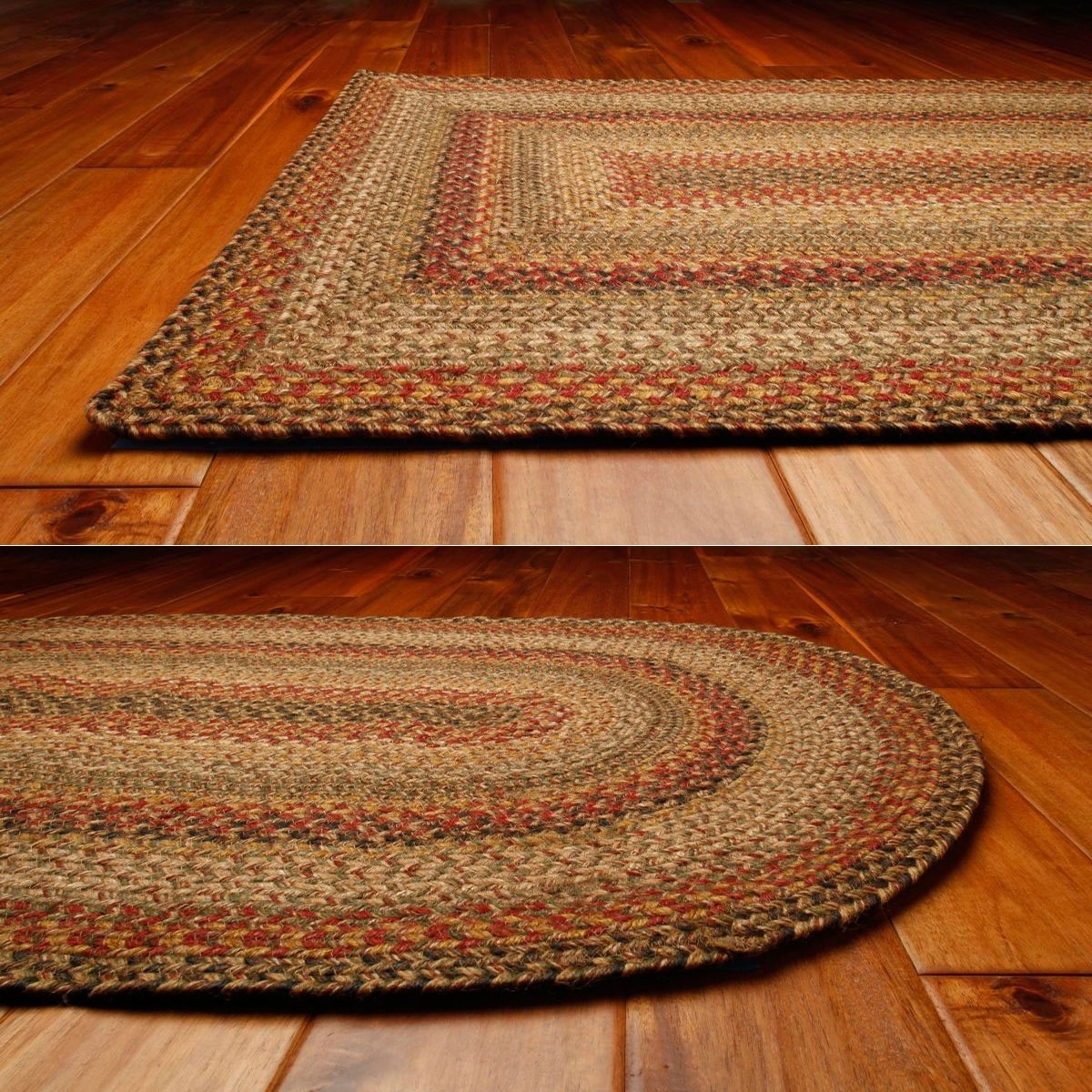Kingston Jute Braided Rugs Regarding Buy Braided Rugs For Less (Image 7 of 10)