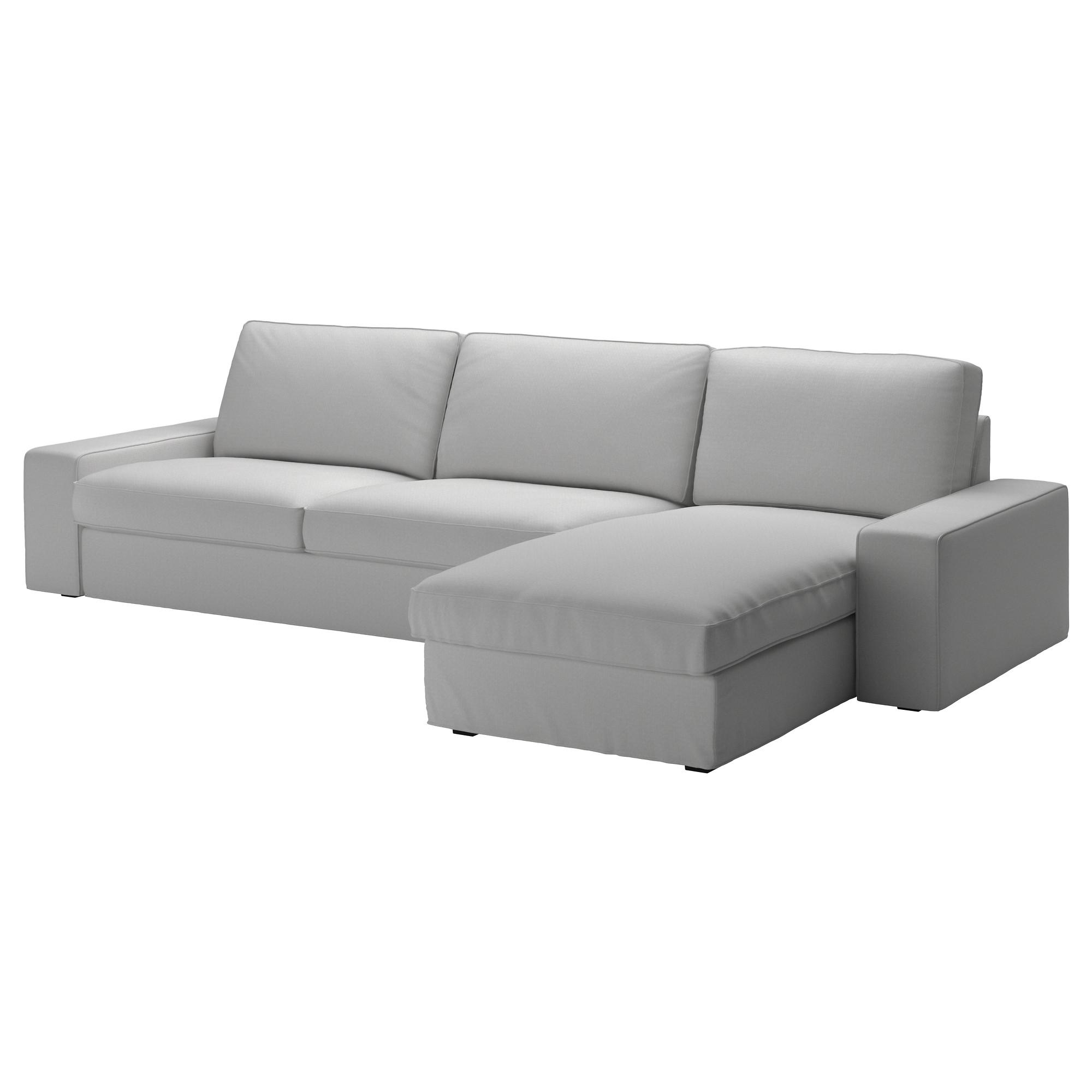 Kivik Sectional, 4 Seat – Orrsta Light Gray – Ikea With Regard To Gray Sofas (Image 10 of 20)
