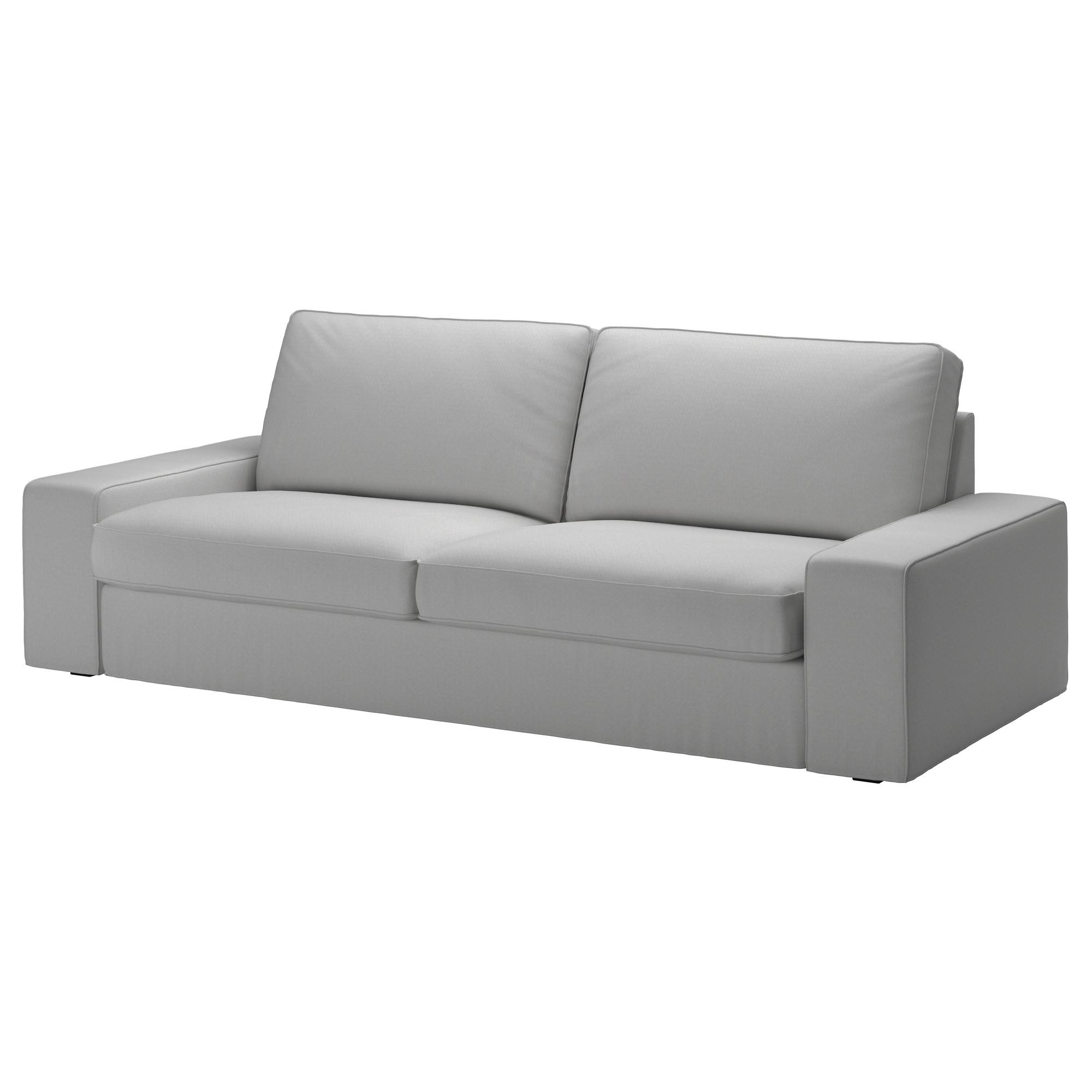 Kivik Sofa Cover – Orrsta Light Gray – Ikea Pertaining To Sofa With Washable Covers (Image 5 of 20)