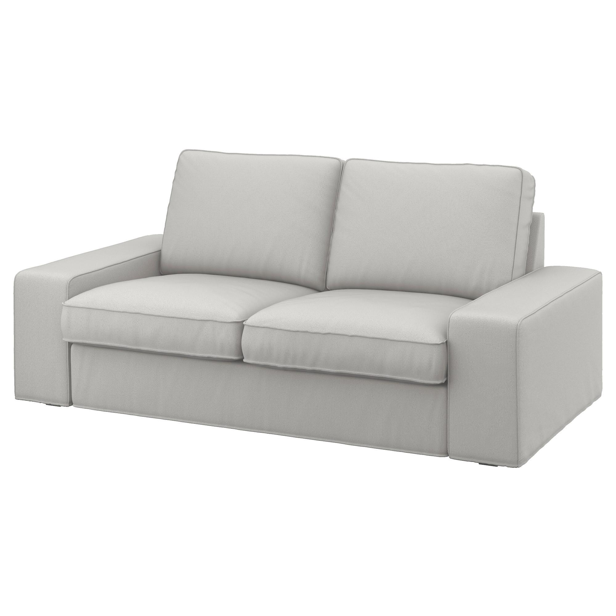 Kivik Two Seat Sofa Ramna Light Grey – Ikea Regarding Ikea Two Seater Sofas (View 8 of 20)