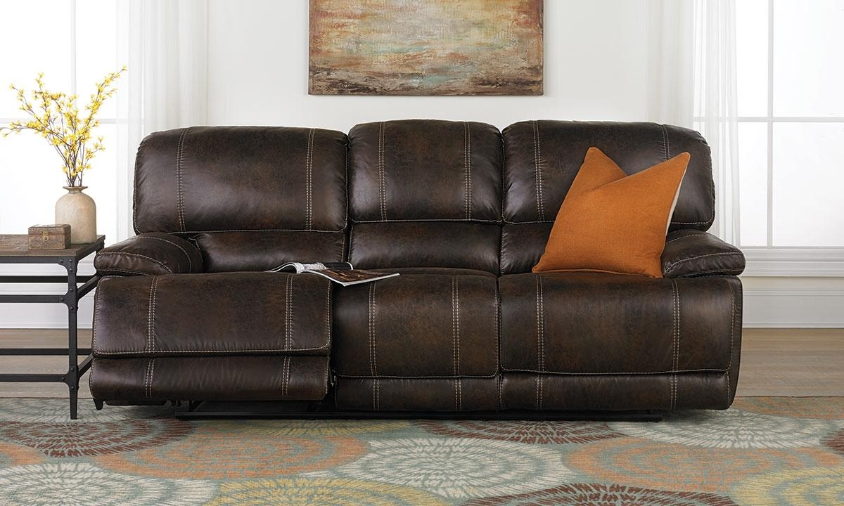 Klaussner Foster Power Reclining Sofa | Haynes Furniture Intended For Newport Sofas (Image 2 of 20)