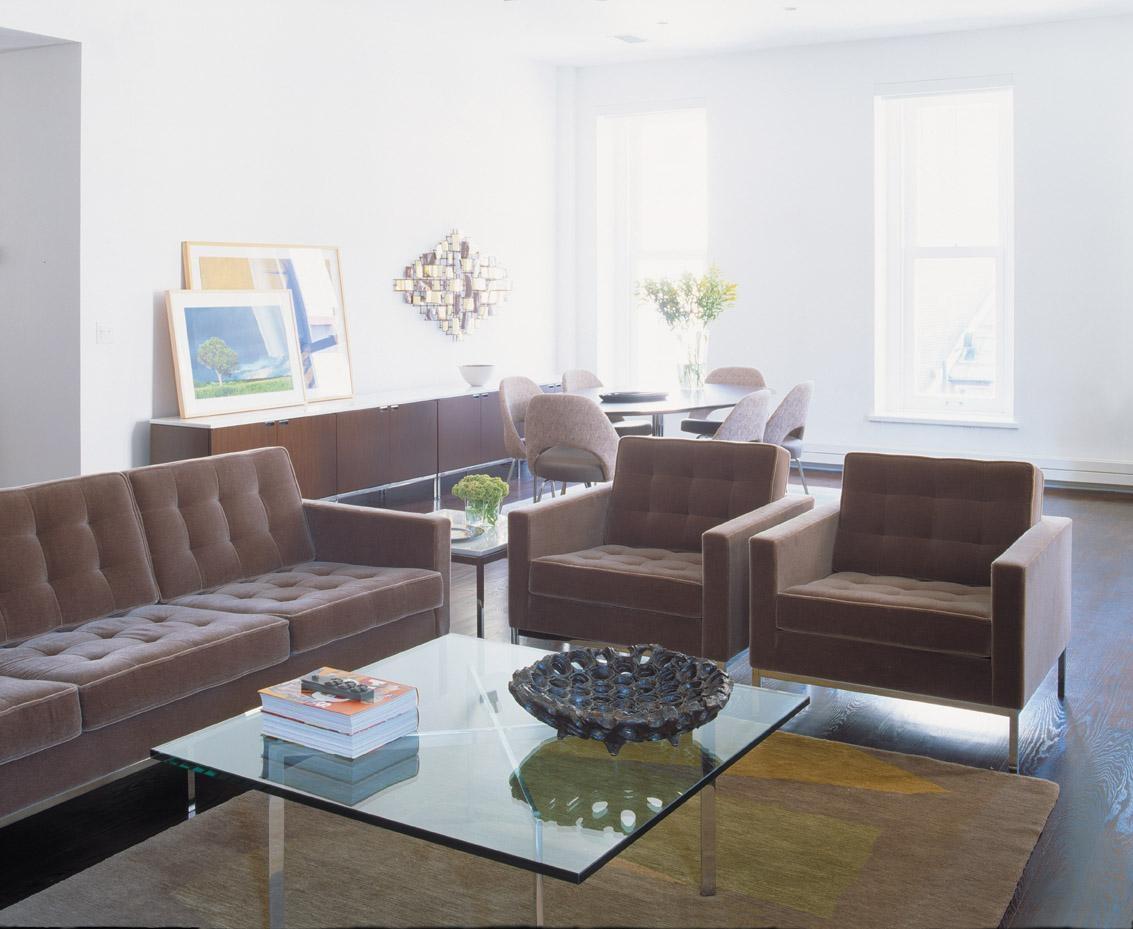Knoll Velvet Upholstery | Knolltextiles Inside Florence Knoll Wood Legs Sofas (Image 14 of 20)