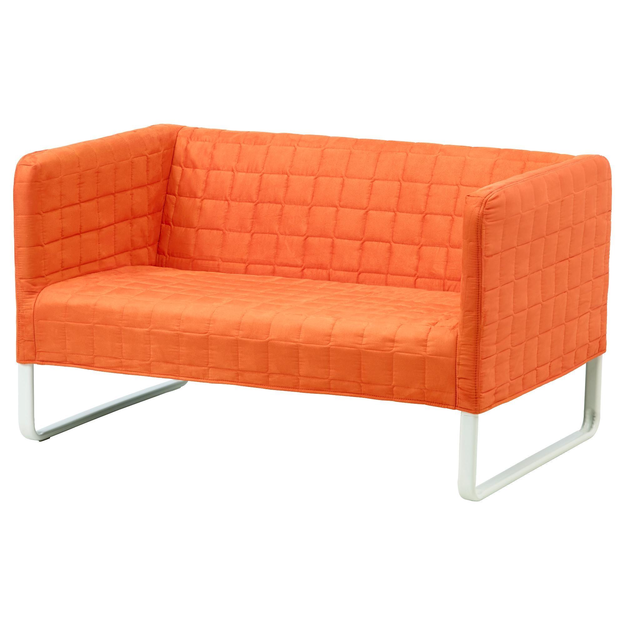 Knopparp 2-Seat Sofa Orange - Ikea in Small Sofas Ikea