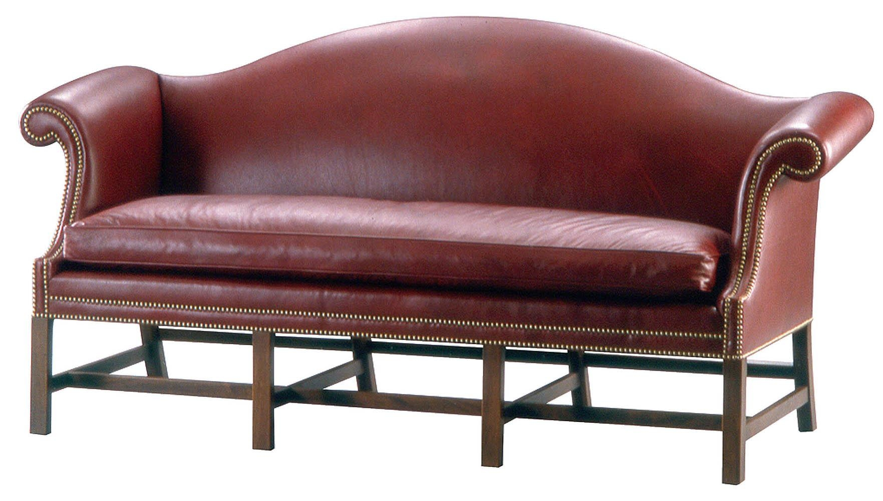 Ks3811 • Chippendale Camelback Sofa intended for Chippendale Camelback Sofas