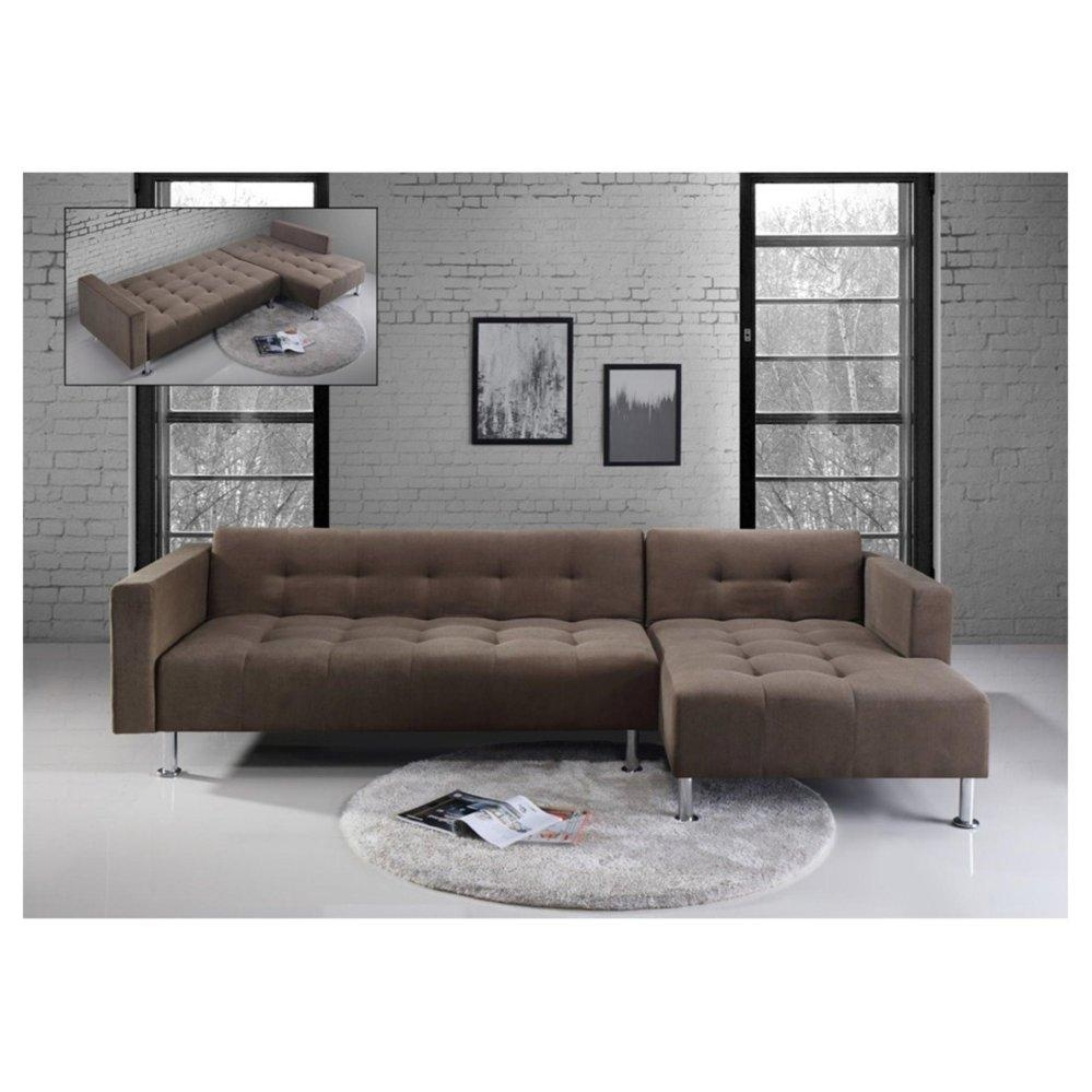 L Shaped Sofa Beds – Leather Sectional Sofa For L Shaped Sofa Bed (Image 13 of 20)