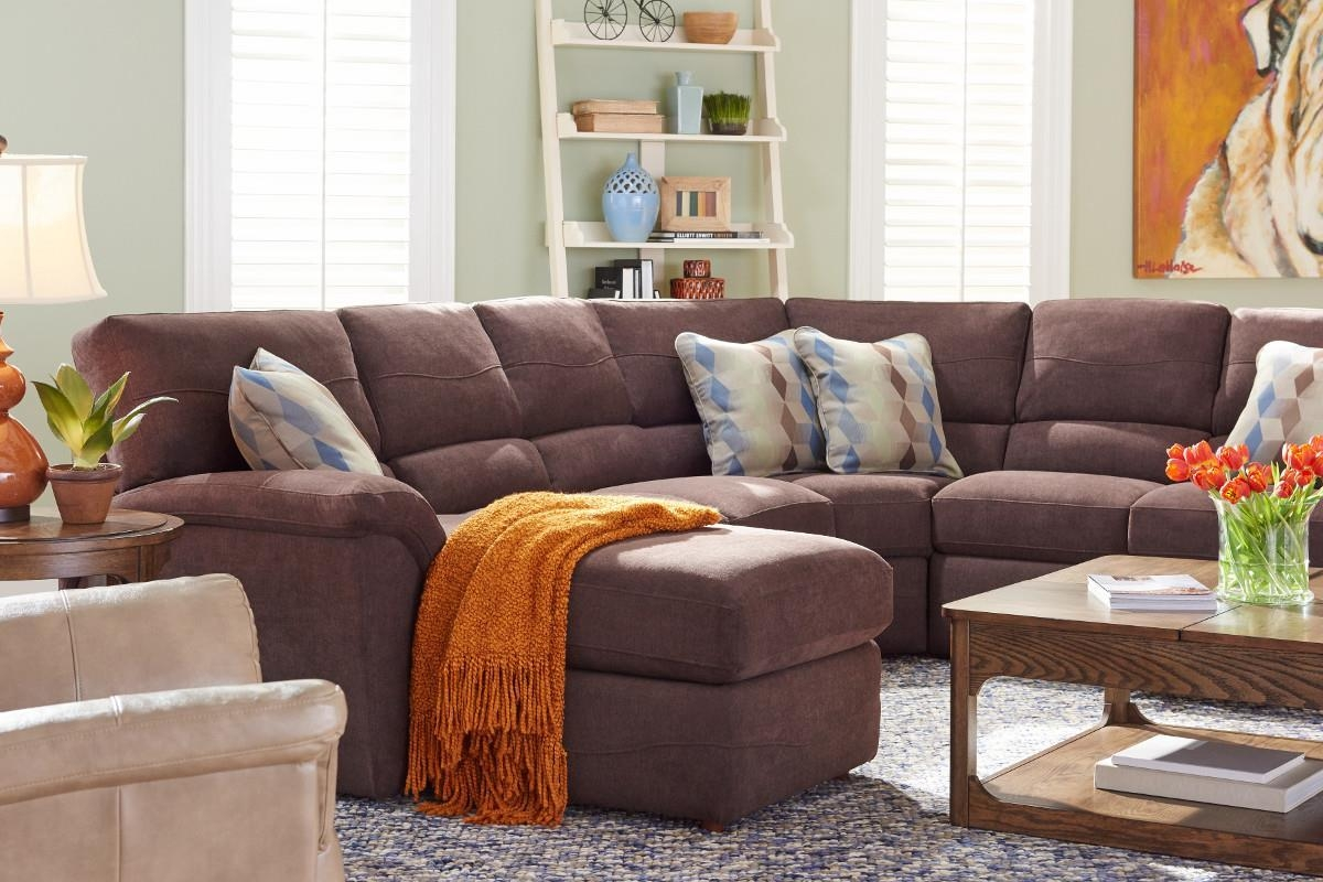 La Z Boy Tyson 3Pc Reclining Sectional – Rotmans – Reclining Intended For Lazyboy Sectional (View 8 of 20)