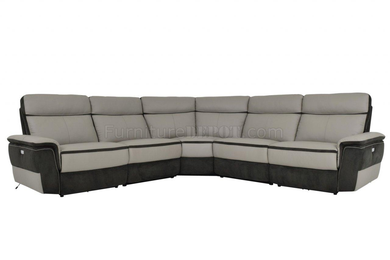 Laertes Power Motion Sectional Sofahomelegance Intended For Leather Motion Sectional Sofa (View 20 of 20)