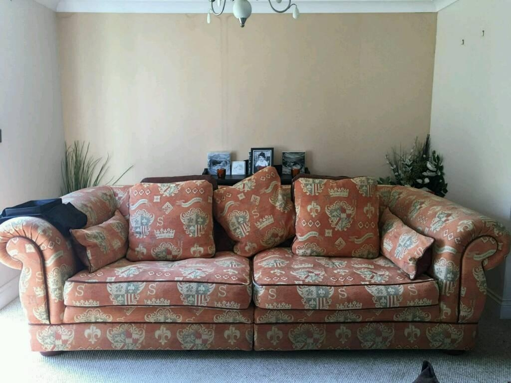 Large 4 Seater And 3 Seater Sofa | In St Osyth, Essex | Gumtree With Regard To Large 4 Seater Sofas (Image 10 of 20)