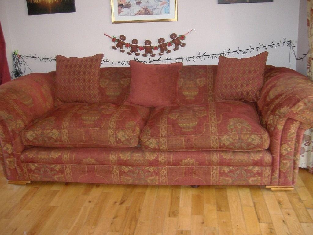 Large 4 Seater Sofa From Barker & Stonehouse | In Cramlington In Large 4 Seater Sofas (Image 14 of 20)