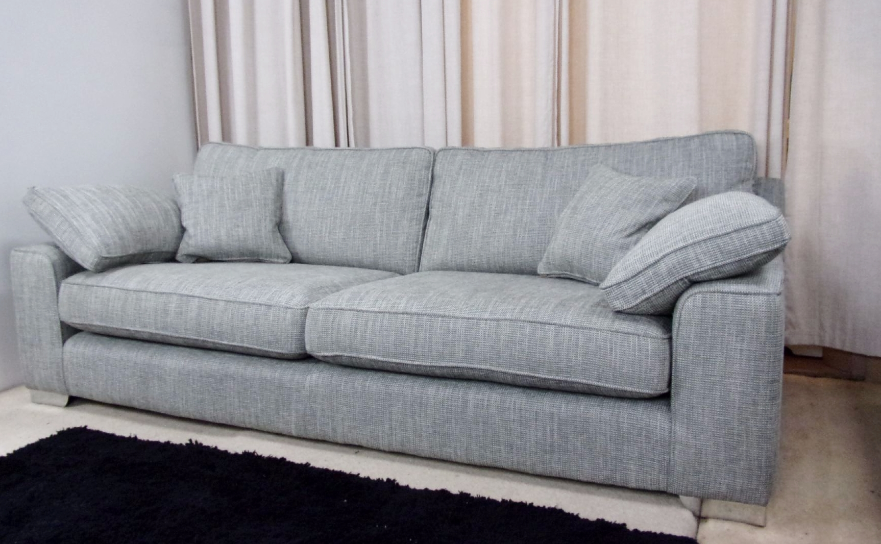 Large 4 Seater Sofa With Large 4 Seater Sofas (Image 16 of 20)