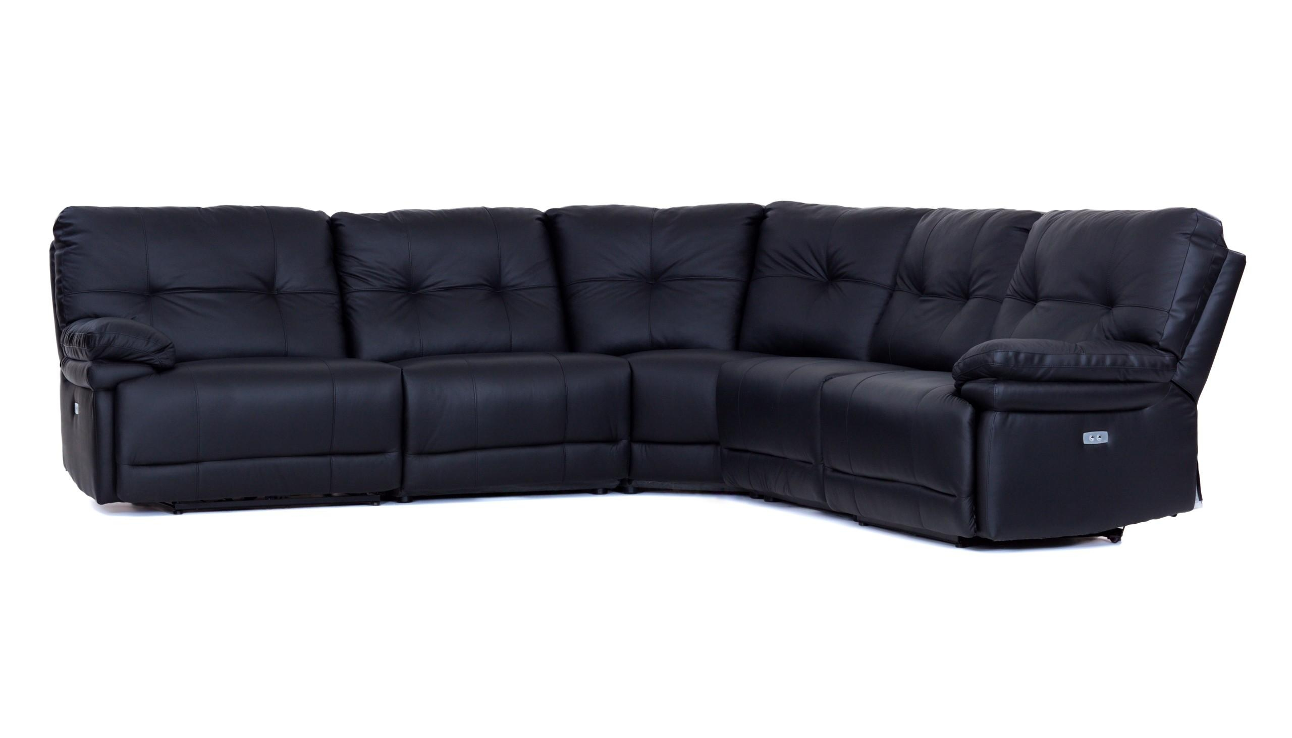 Large Manual Recliner Corner Sofa From The Milan Range | Ahf Furniture Pertaining To Corner Sofa And Swivel Chairs (Image 16 of 20)
