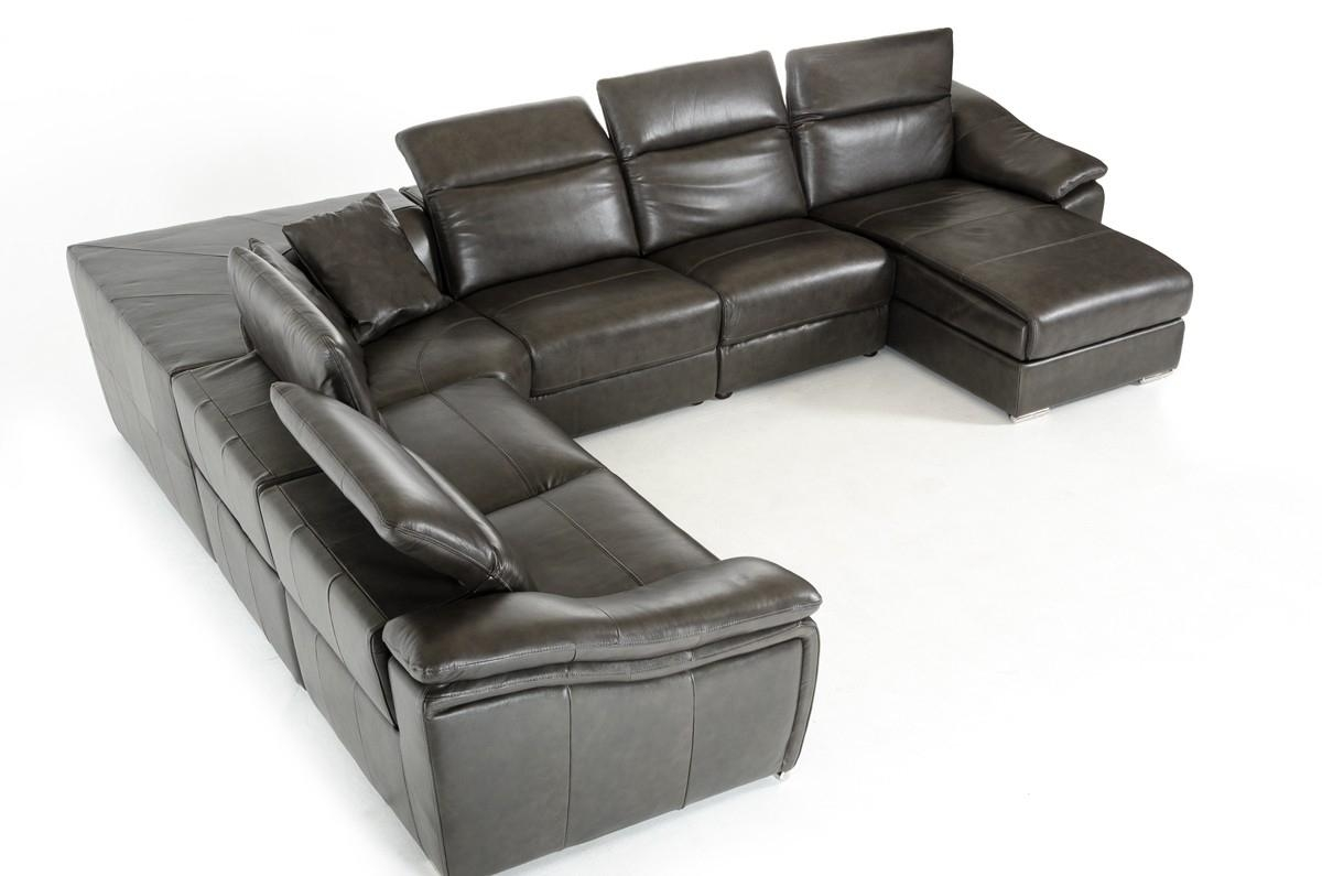 Large Sectionals Sofa: Sectional Sofas Office Chairs Inside Intended For Huge Leather Sectional (Image 14 of 20)