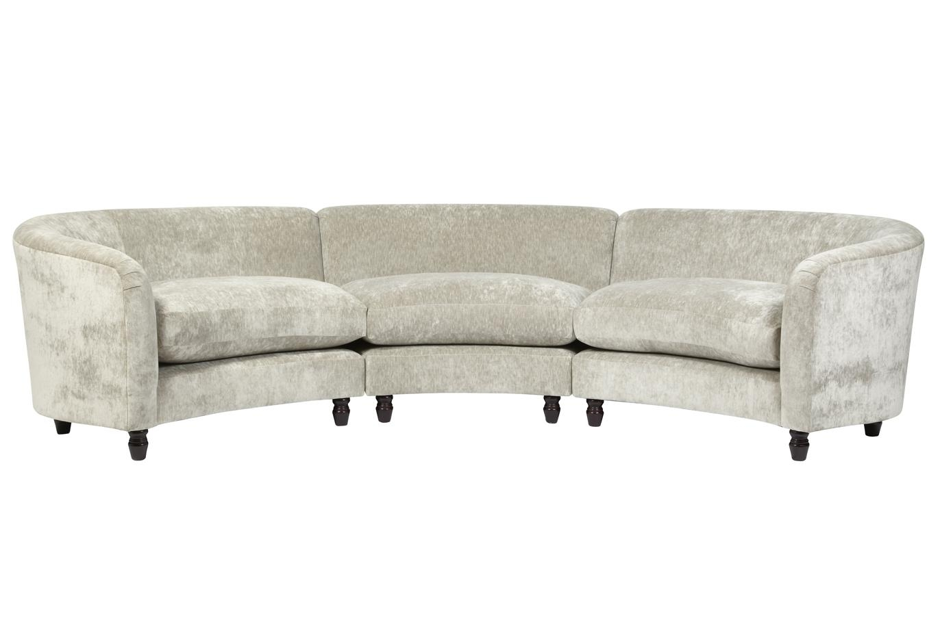 Laura Ashley Small Sofa – Leather Sectional Sofa Regarding Ashley Curved Sectional (View 8 of 15)