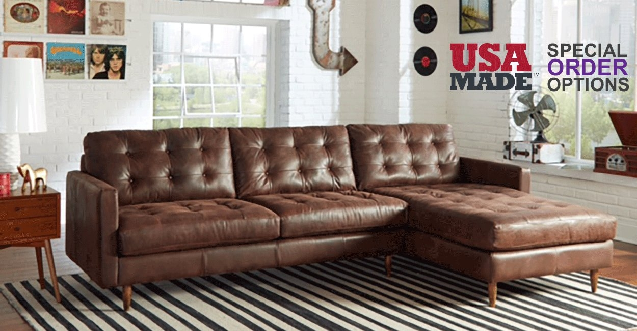 Leather – Biltrite Furniture Regarding Bomber Leather Sofas (Image 10 of 20)