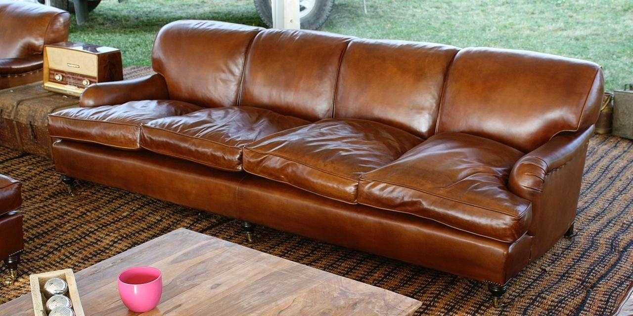 Leather Chairs Of Bath Chelsea Design Quarter Lansdown 4 Seater Throughout 4 Seat Leather Sofas (Image 11 of 20)