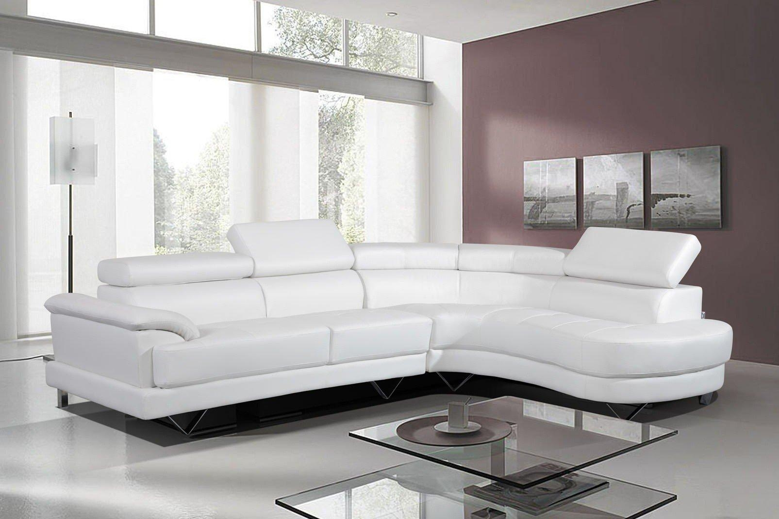 Leather Corner Sofa Ebay | Tehranmix Decoration Inside White Leather Corner Sofa (View 2 of 20)