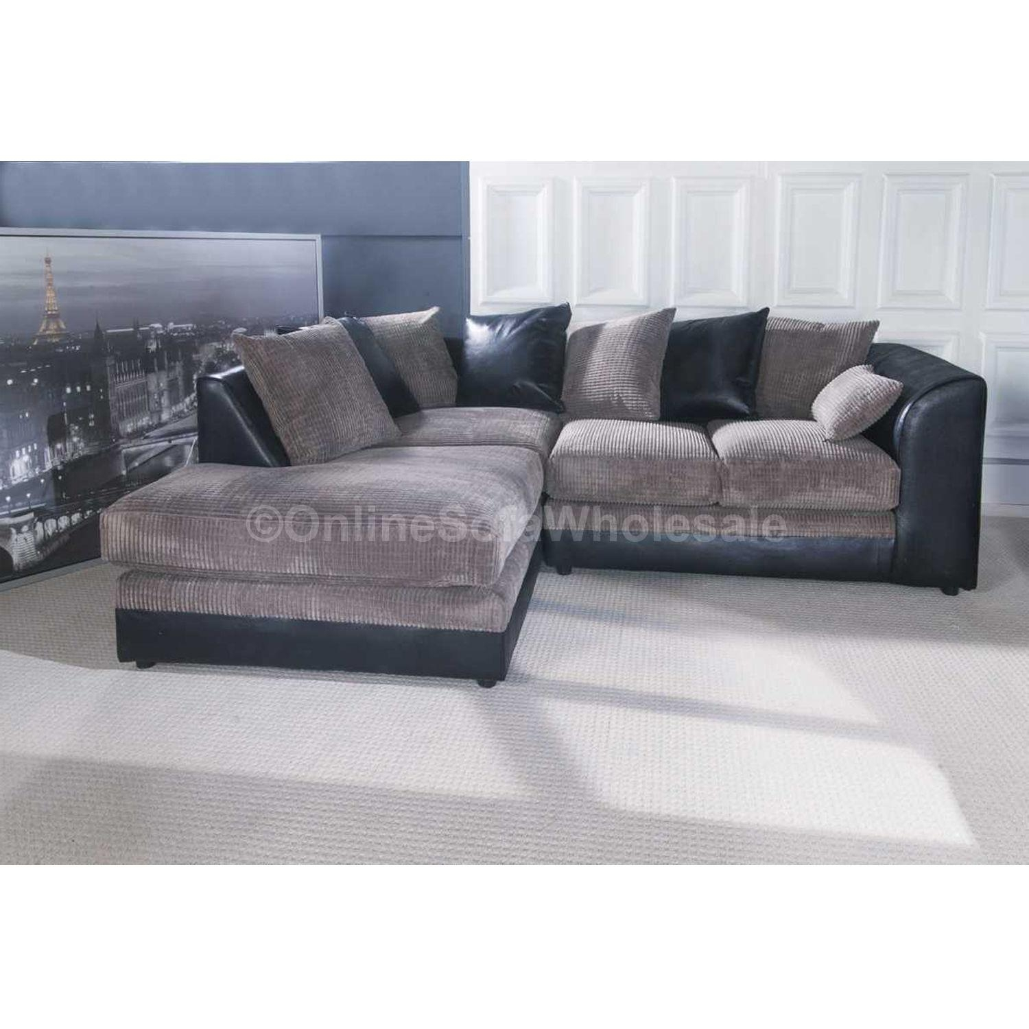 Leather Corner Sofa Ebay | Tehranmix Decoration Within Black Leather Corner Sofas (View 16 of 20)