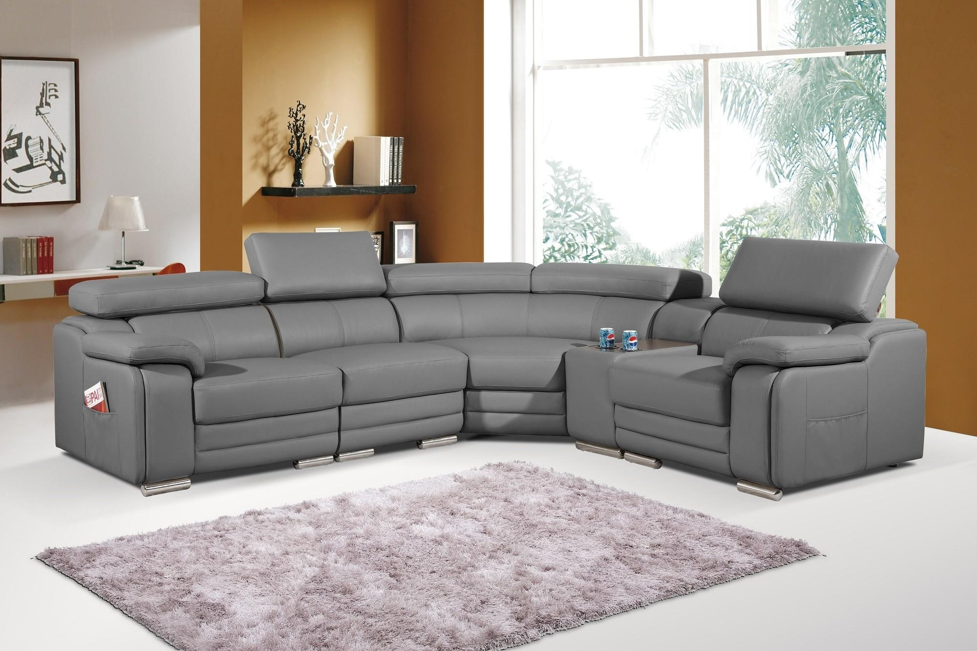 Leather Corner Sofa Grey | Tehranmix Decoration Inside Charcoal Grey Leather Sofas (View 18 of 20)