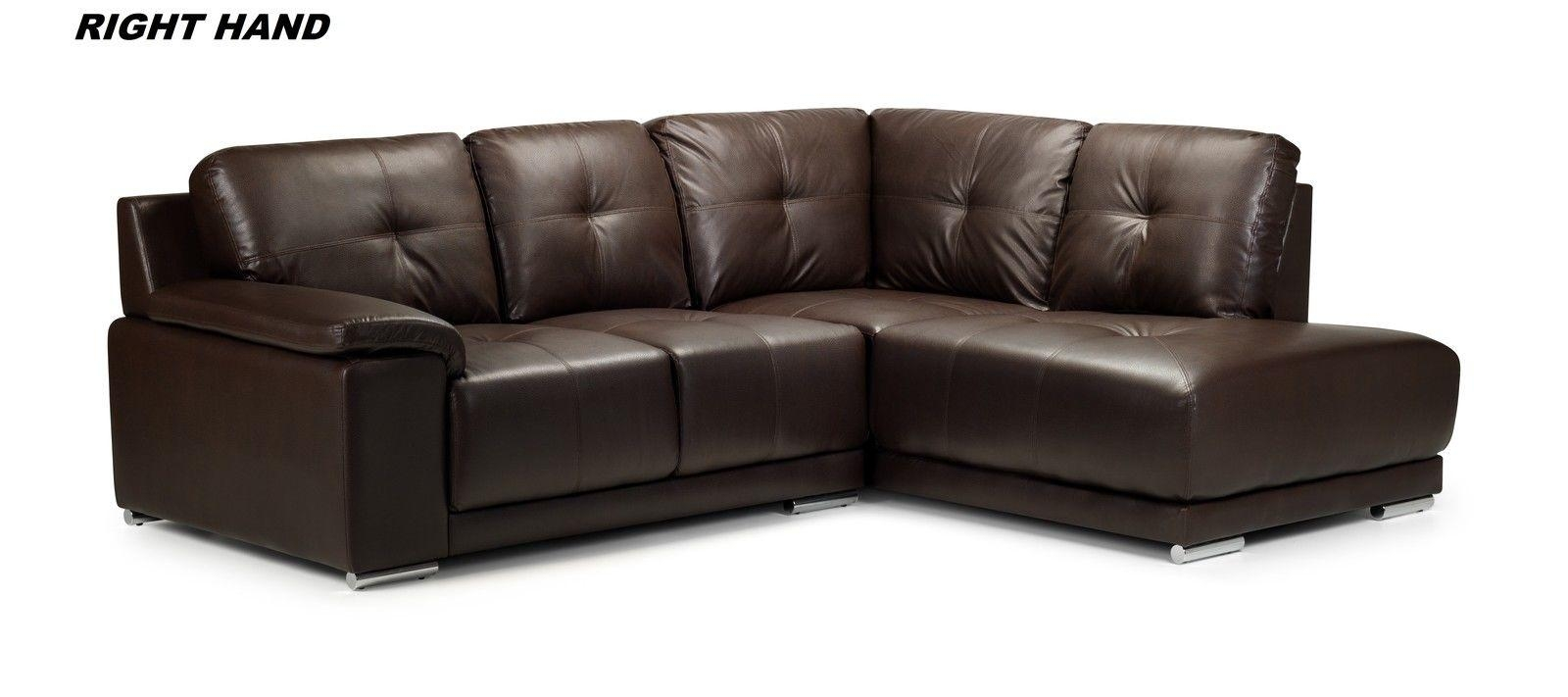 Leather Corner Sofas And Home Leather Reclining Sofas Houston With Regard To Black Leather Corner Sofas (Image 15 of 20)